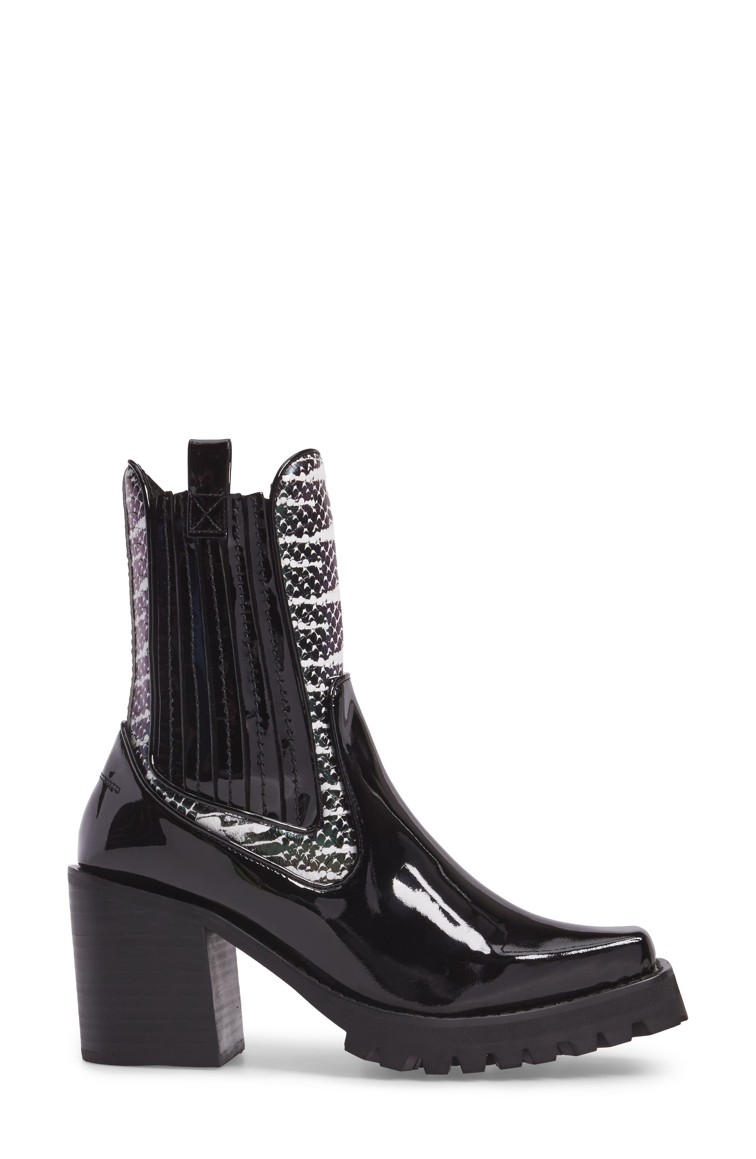 Elkins Boot,                             Alternate thumbnail 3, color,                             Black Snake