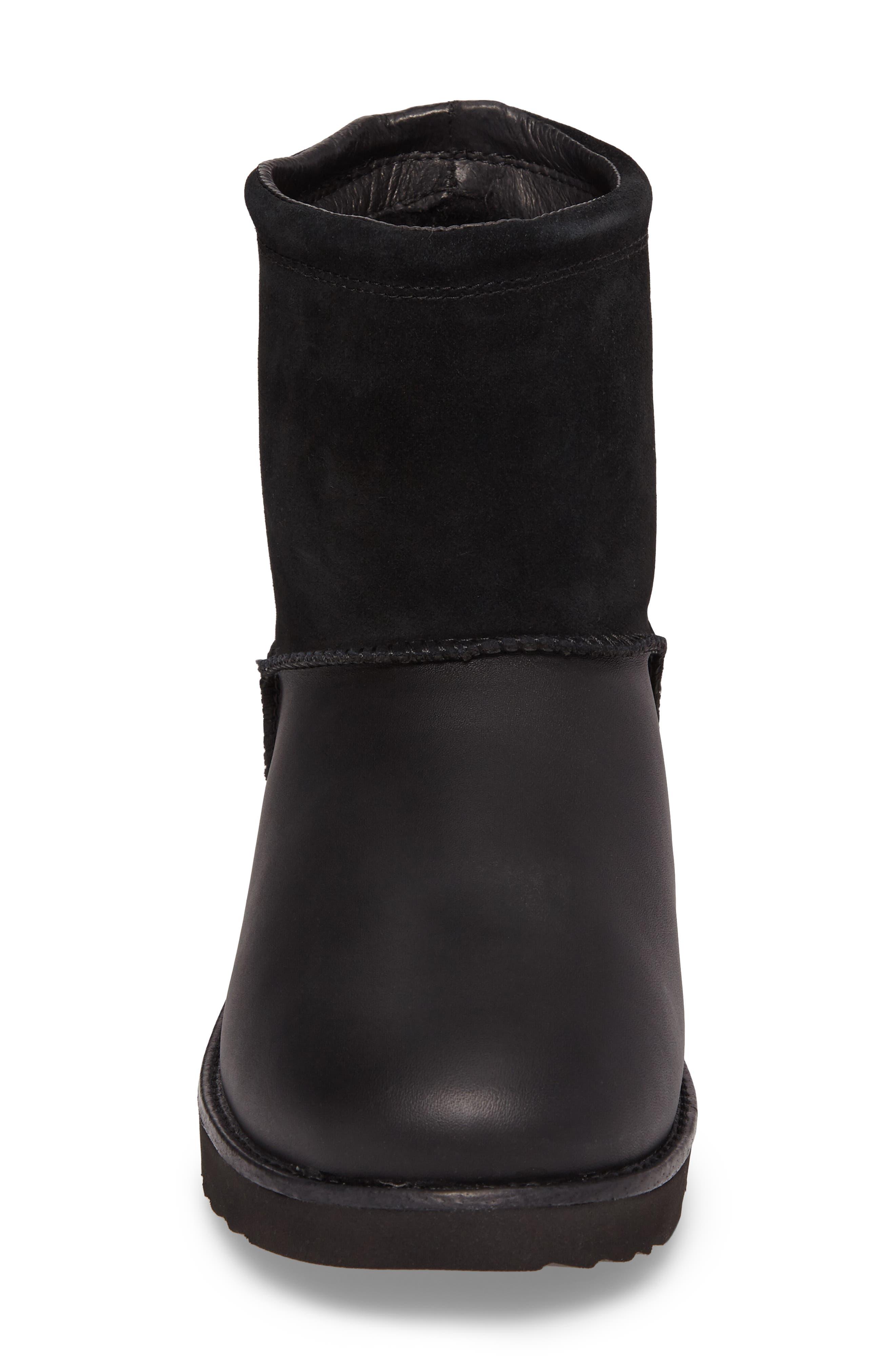 Classic Waterproof Boot,                             Alternate thumbnail 4, color,                             Black
