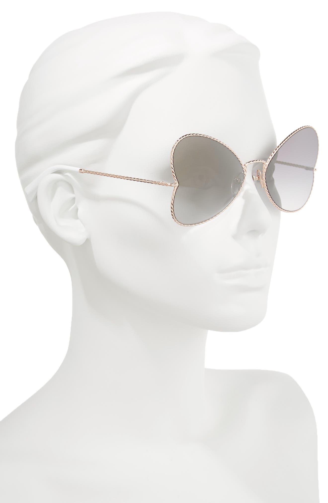 Alternate Image 2  - MARC JACOBS 60mm Heart Sunglasses