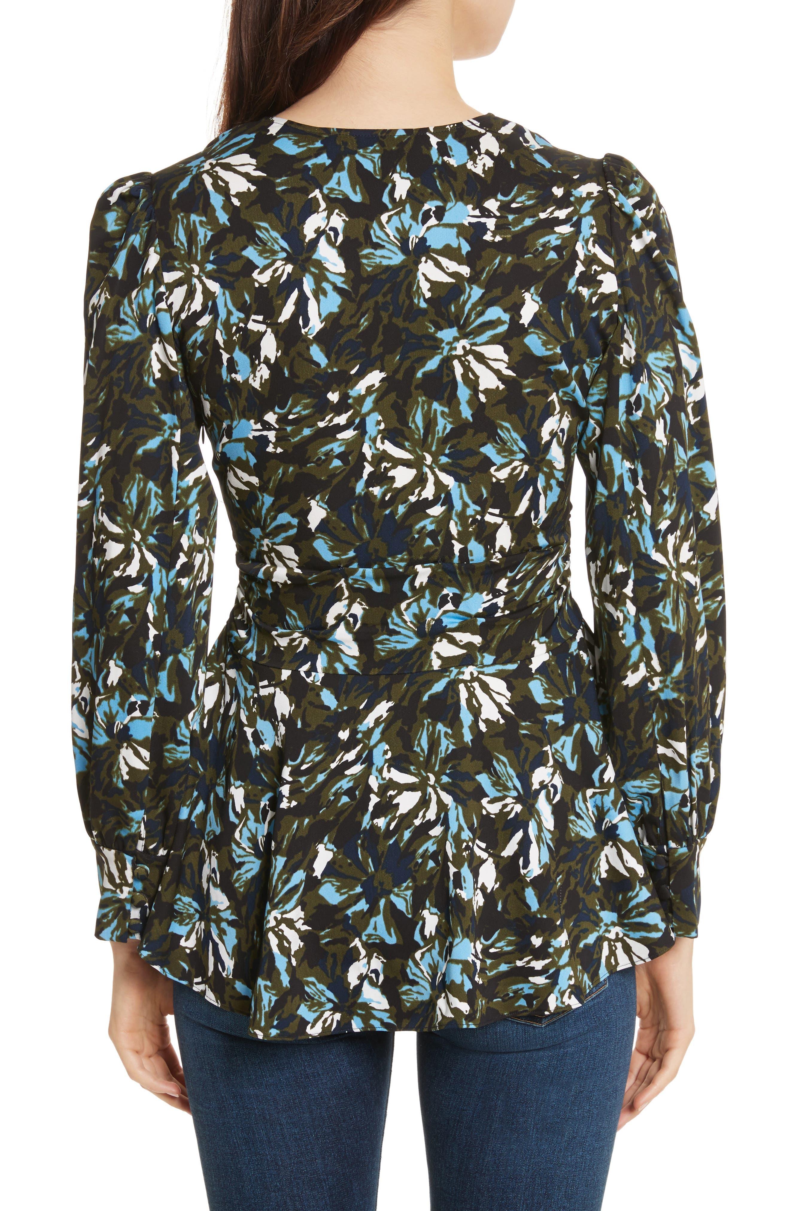 Alternate Image 2  - Veronica Beard Oakley Silk Top