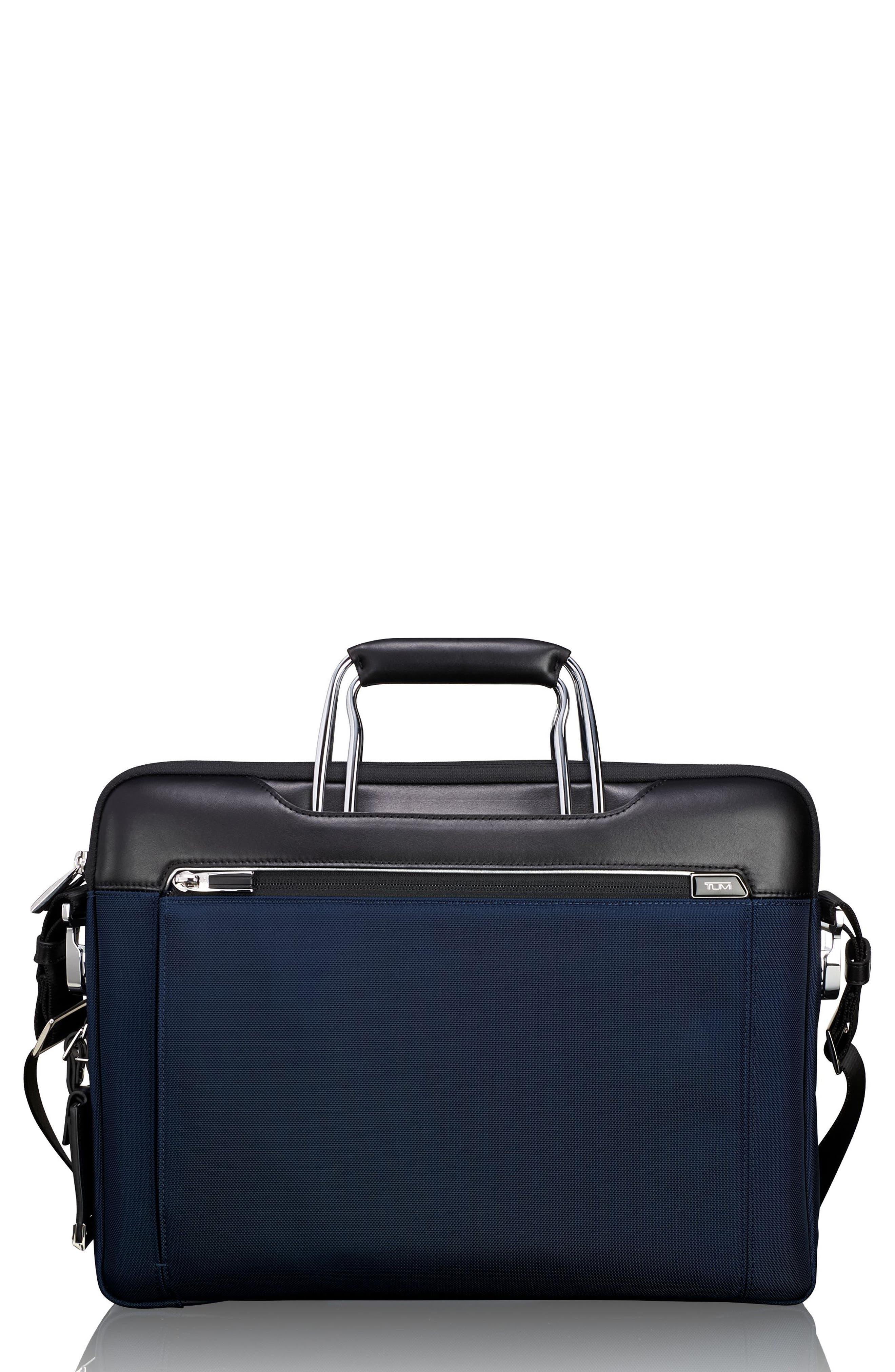 Arrivé Hamilton Briefcase,                         Main,                         color, Navy