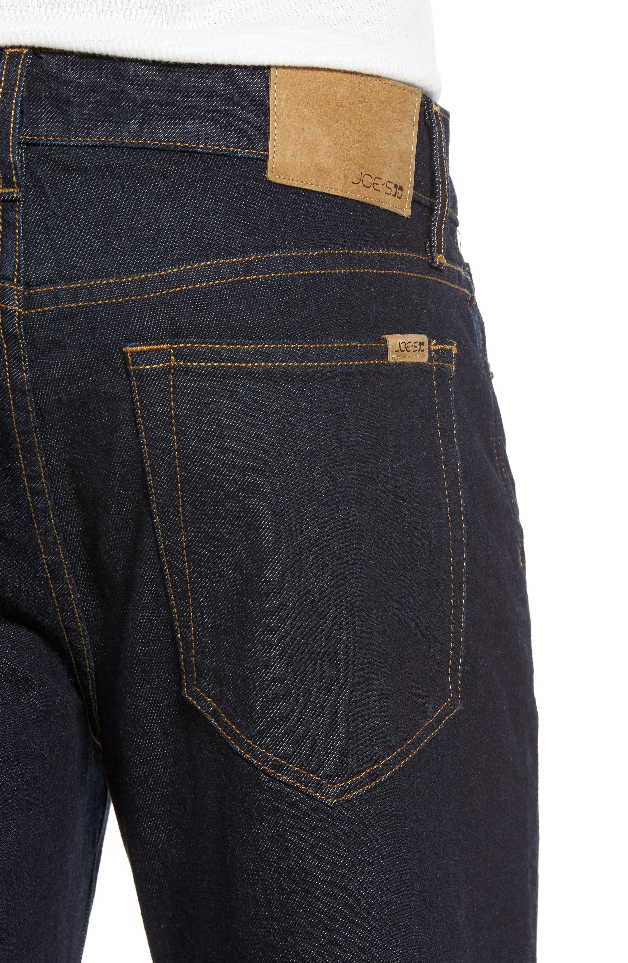 Brixton Slim Straight Leg Jeans,                             Alternate thumbnail 4, color,                             Halford