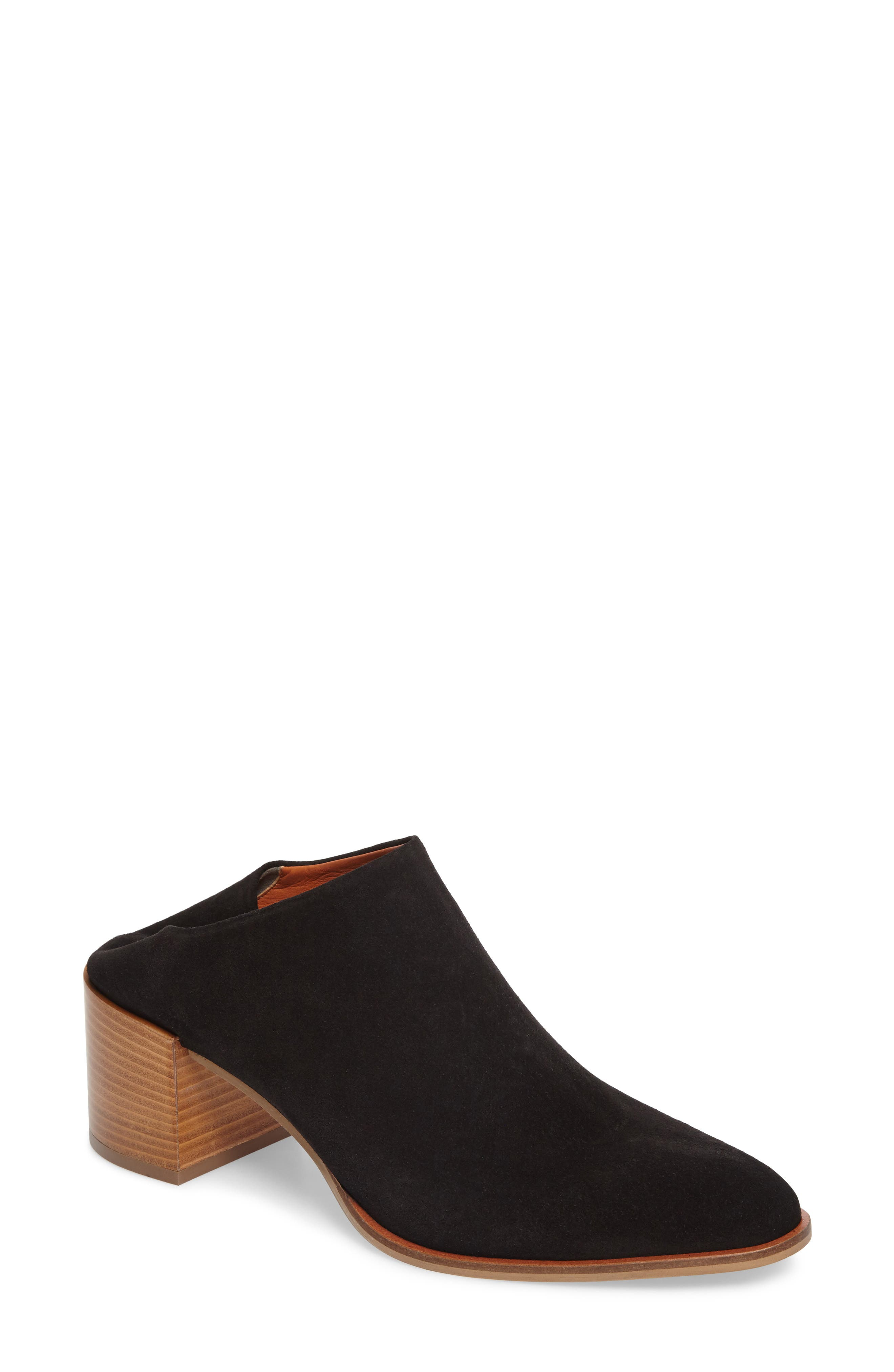 Alternate Image 1 Selected - Everlane The Suede Heel Mule (Women)