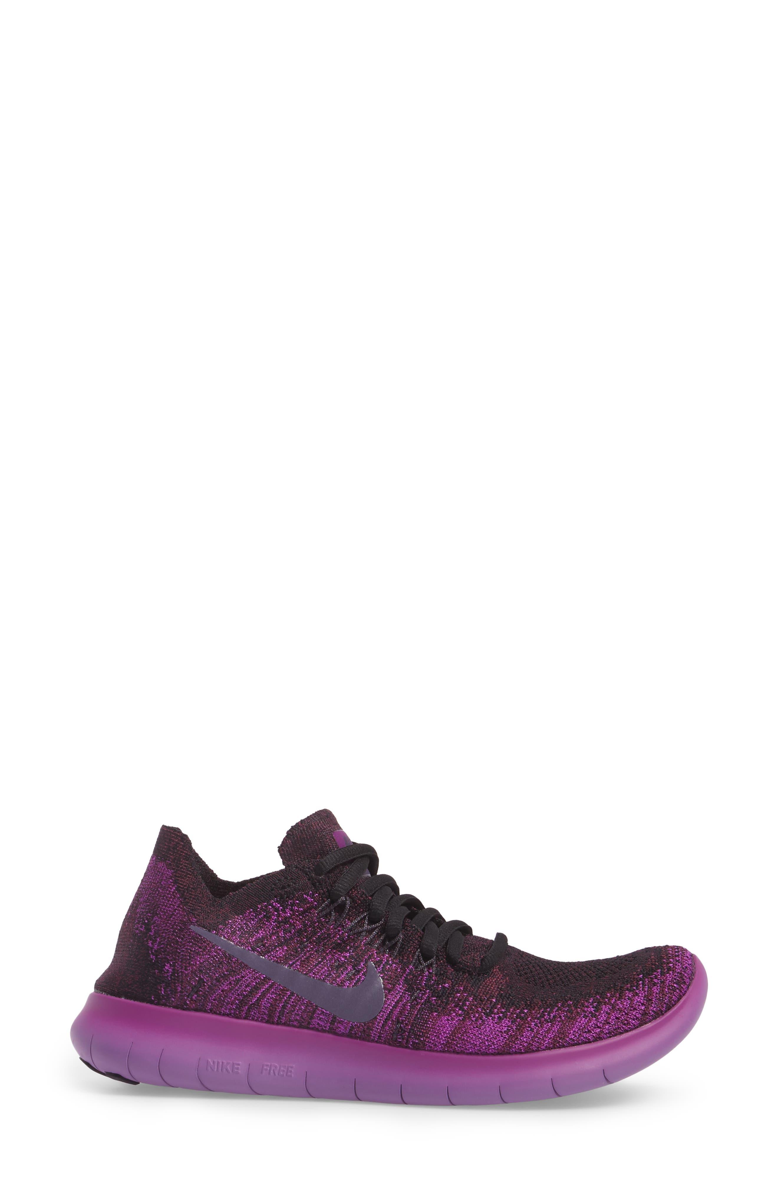 Alternate Image 3  - Nike Free Run Flyknit 2 Running Shoe (Women)