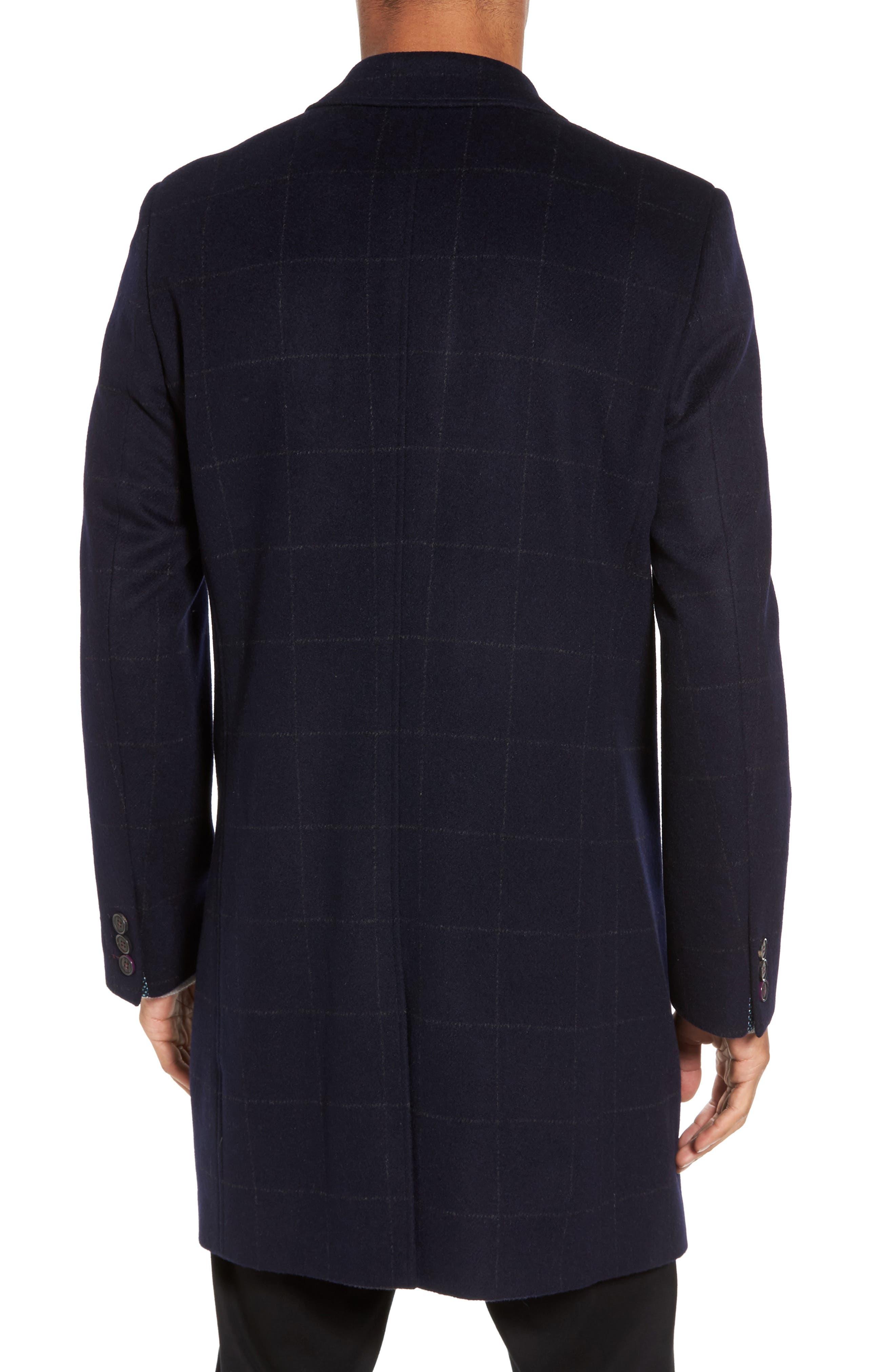 Alternate Image 2  - Ted Baker London Endurance Wool Blend Overcoat
