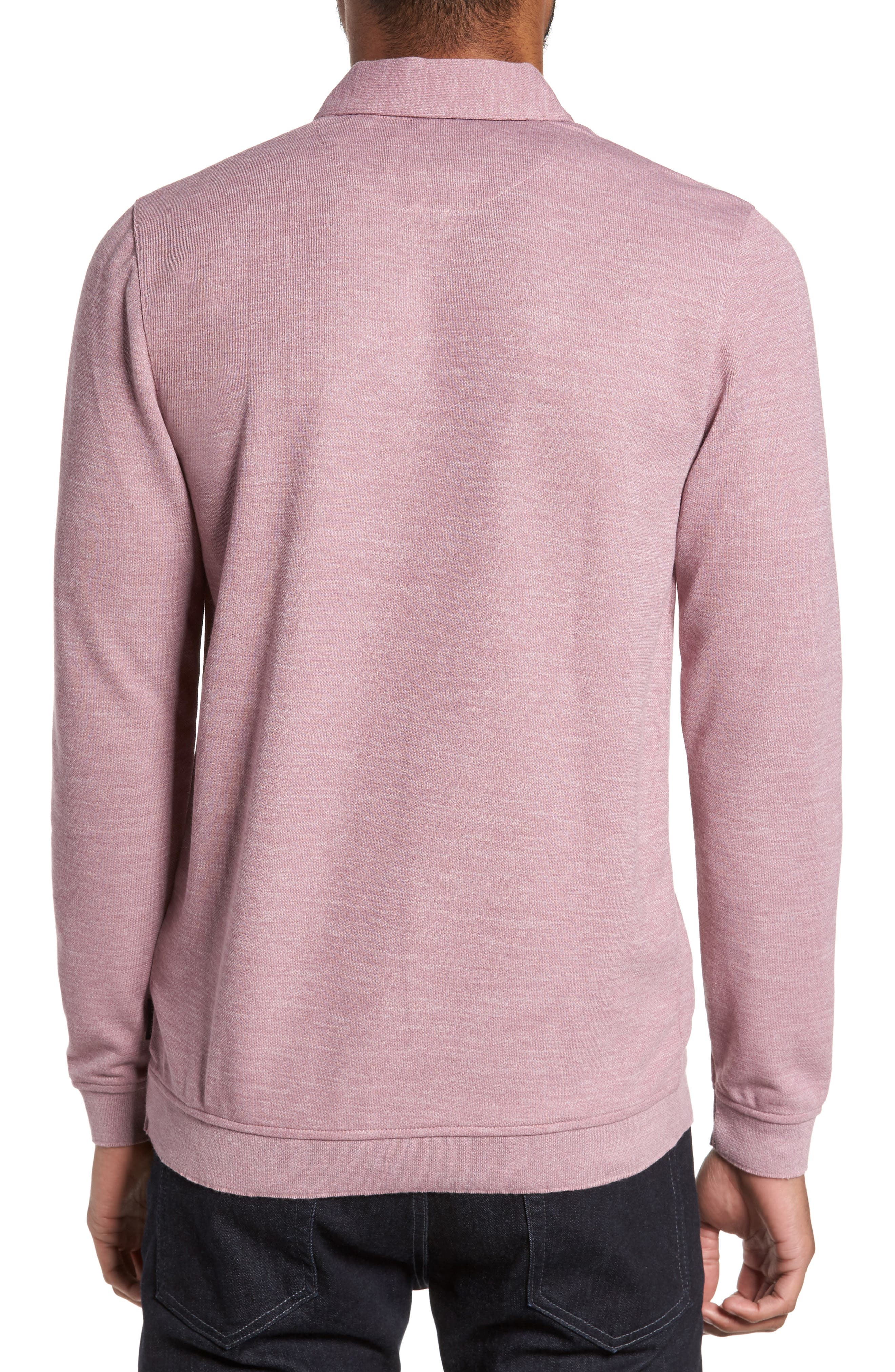 Alternate Image 2  - Ted Baker London Modern Slim Fit Long Sleeve Jersey Polo