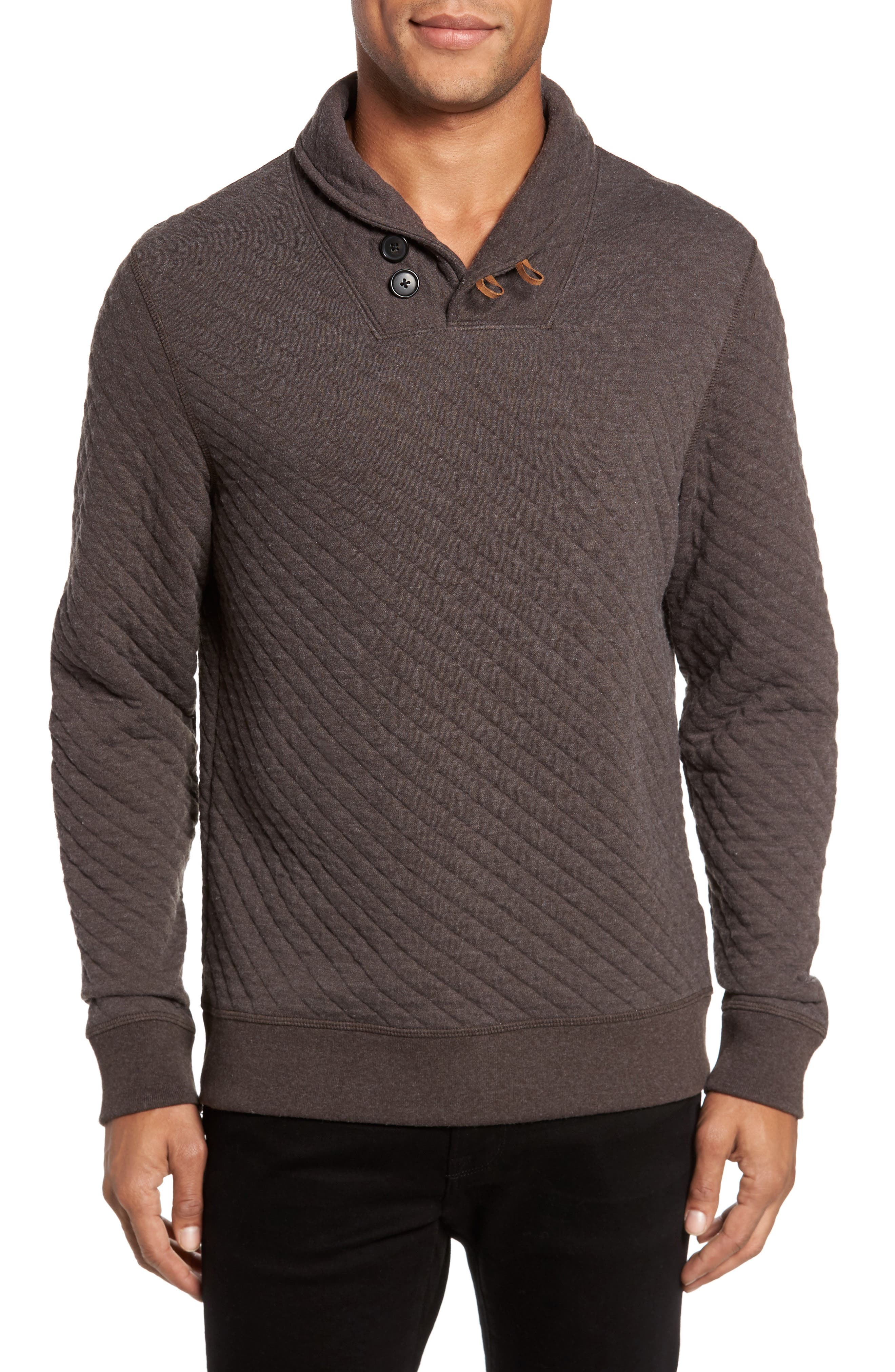Alternate Image 1 Selected - Billy Reid Shawl Collar Pullover