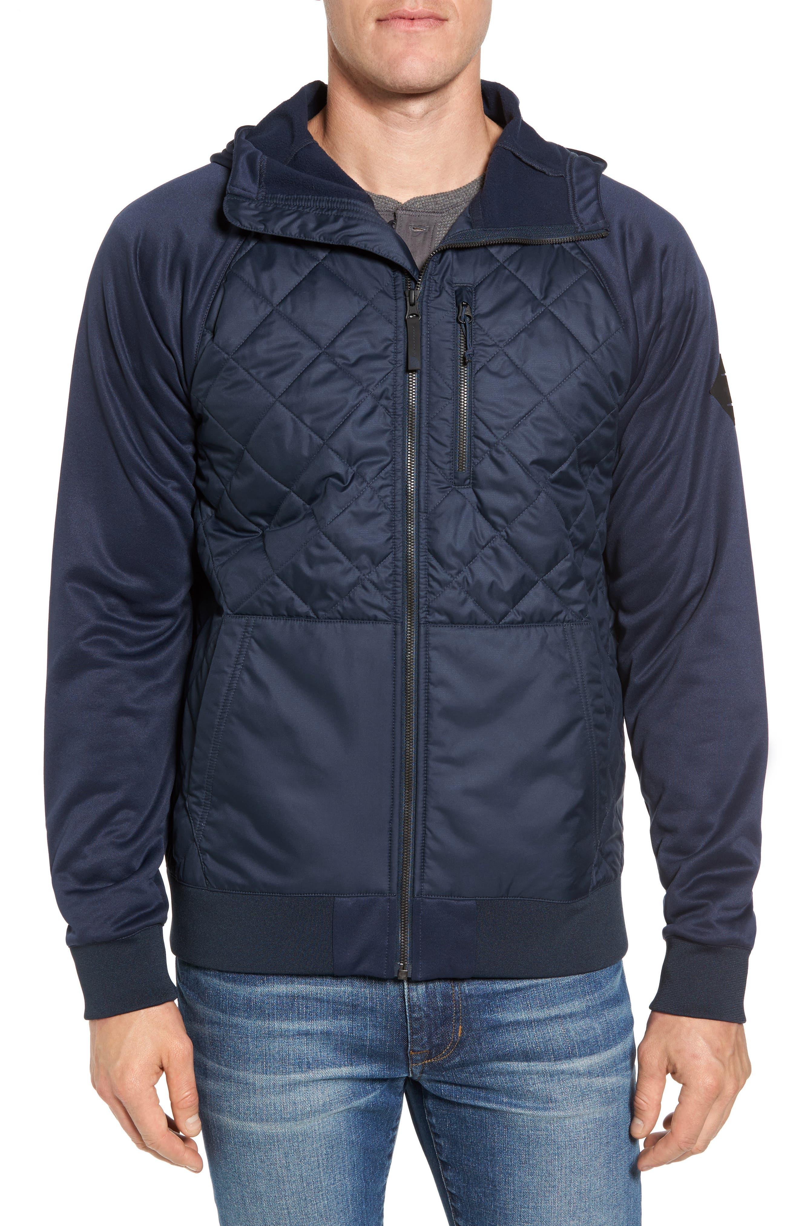 Pilsen Hybrid Jacket,                         Main,                         color, Urban Navy