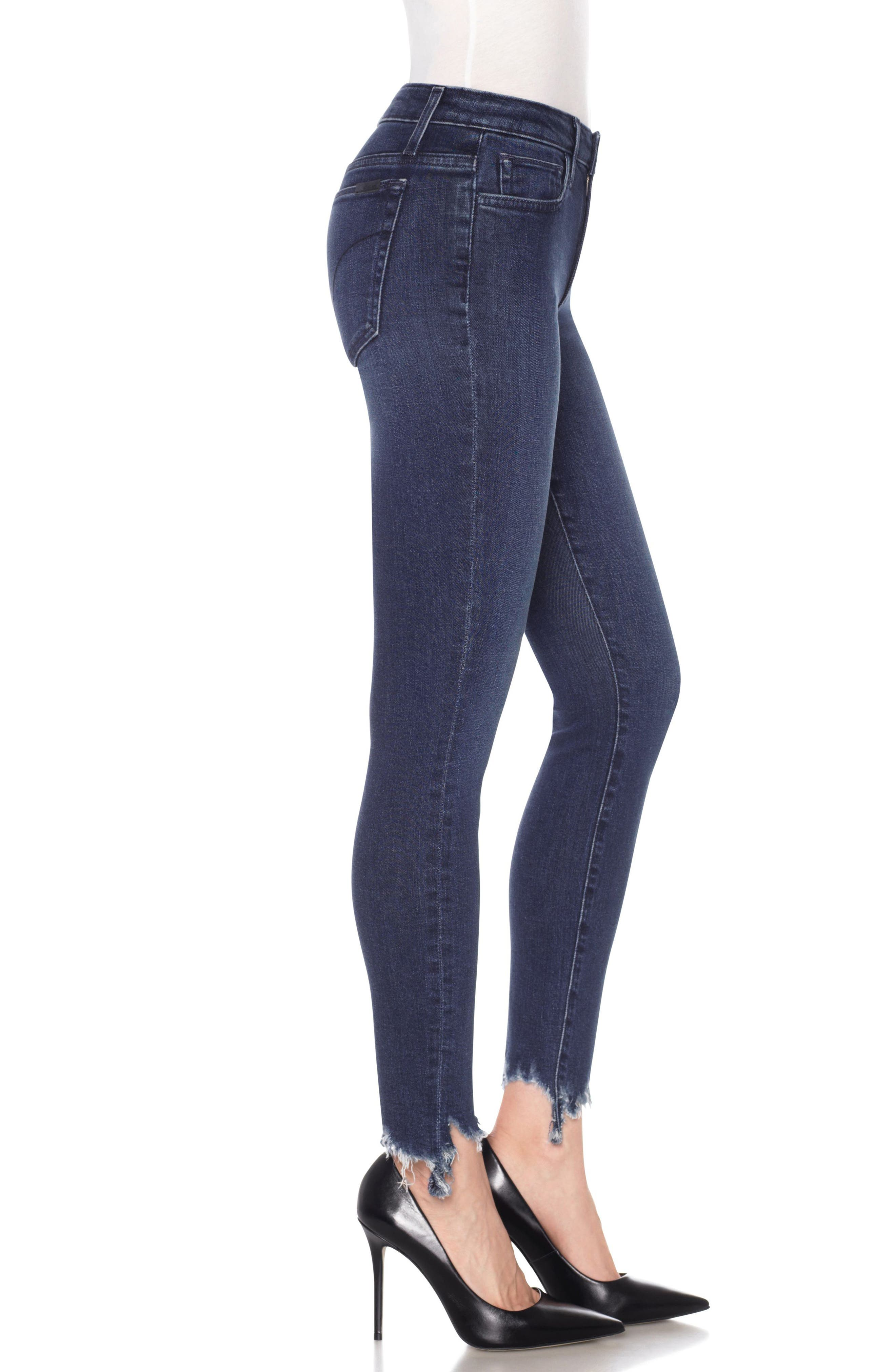 Icon Ankle Skinny Jeans,                             Alternate thumbnail 3, color,                             Everly
