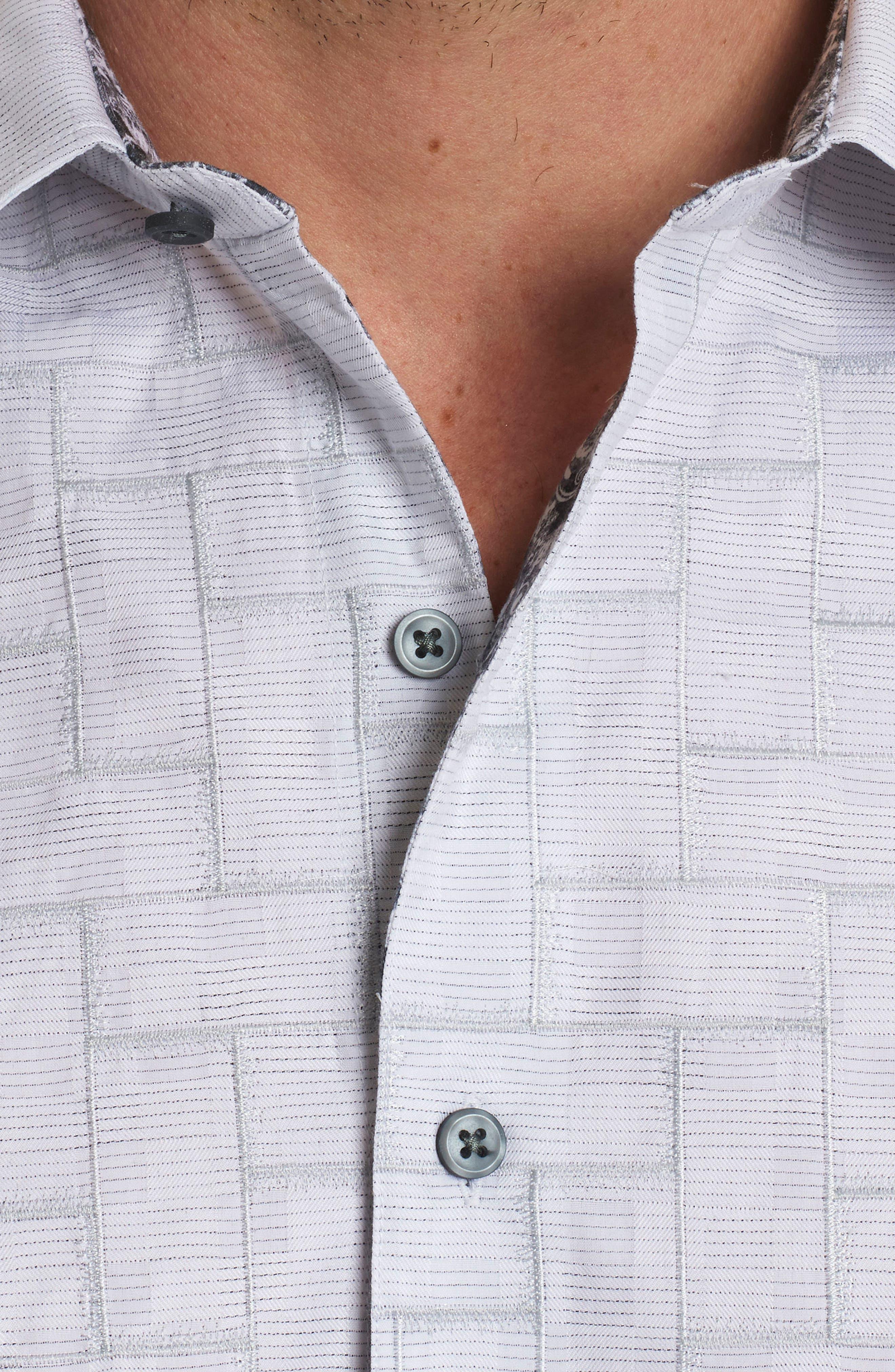 Alternate Image 4  - Robert Graham Transient Classic Fit Print Sport Shirt