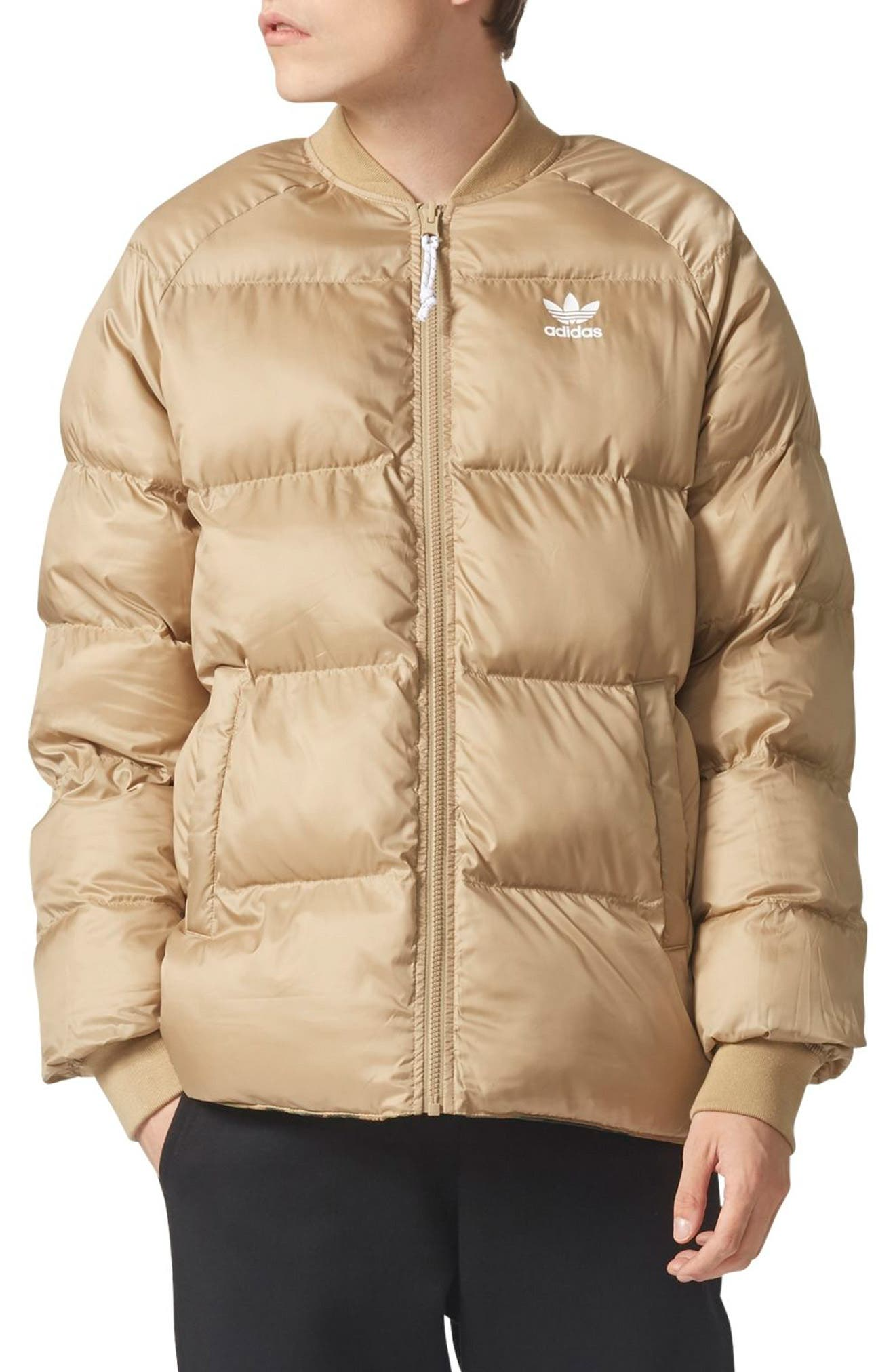 Originals SST Reversible Winter Jacket,                             Alternate thumbnail 4, color,                             Camo/ Hemp
