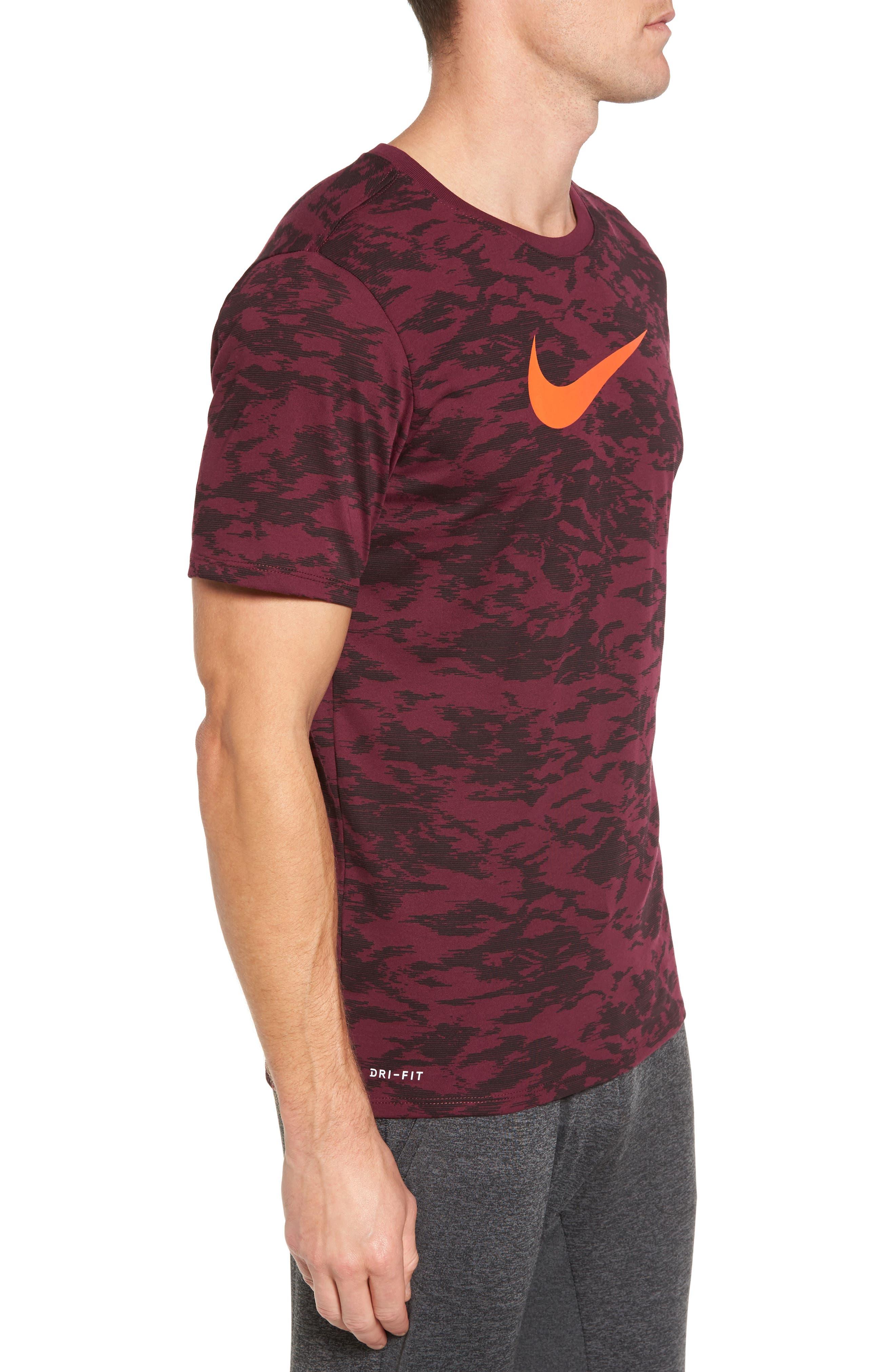 Alternate Image 3  - Nike Basketball Attack Logo T-Shirt