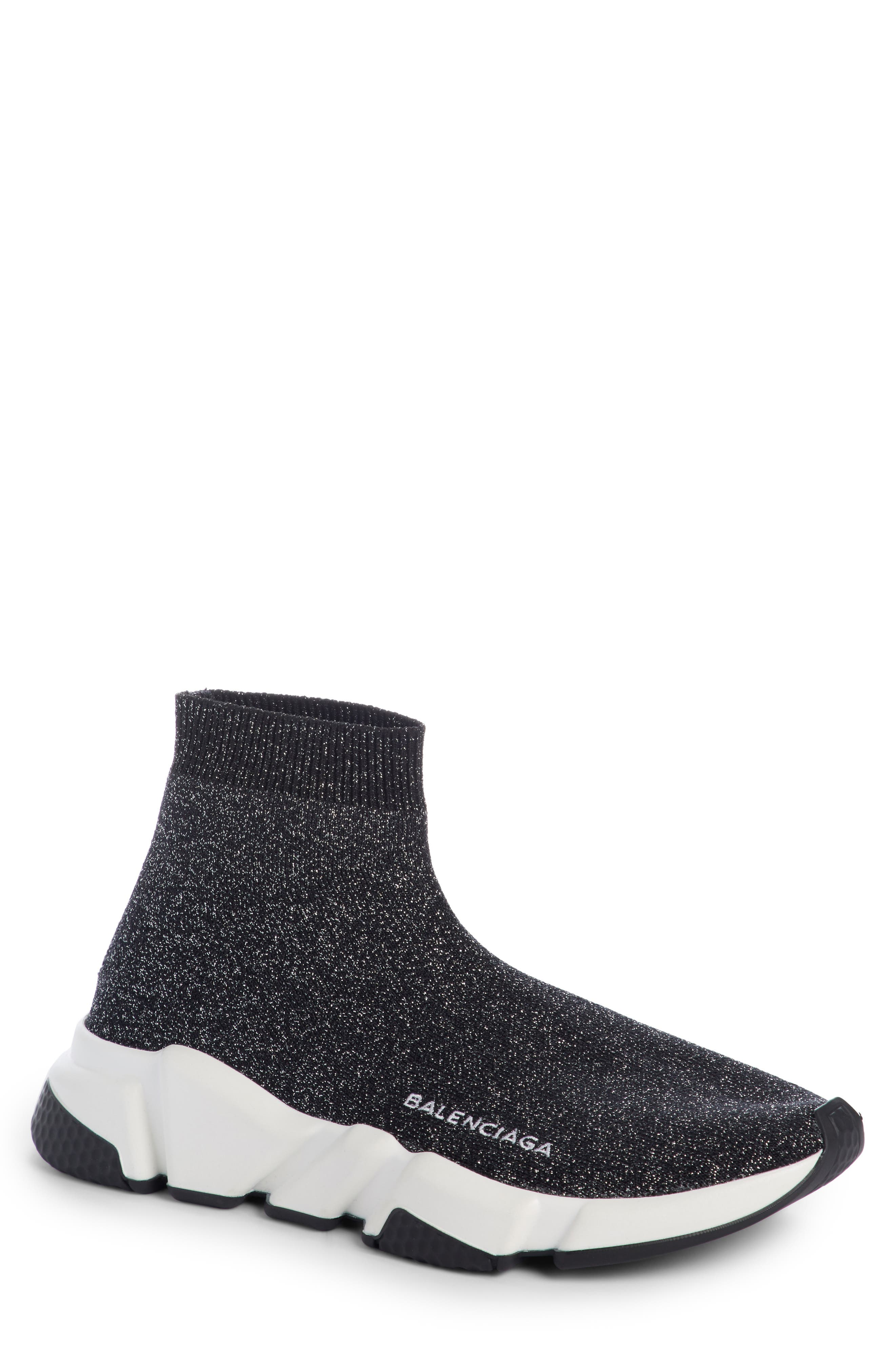 Alternate Image 1 Selected - Balenciaga Speed Mid Sneaker (Women)