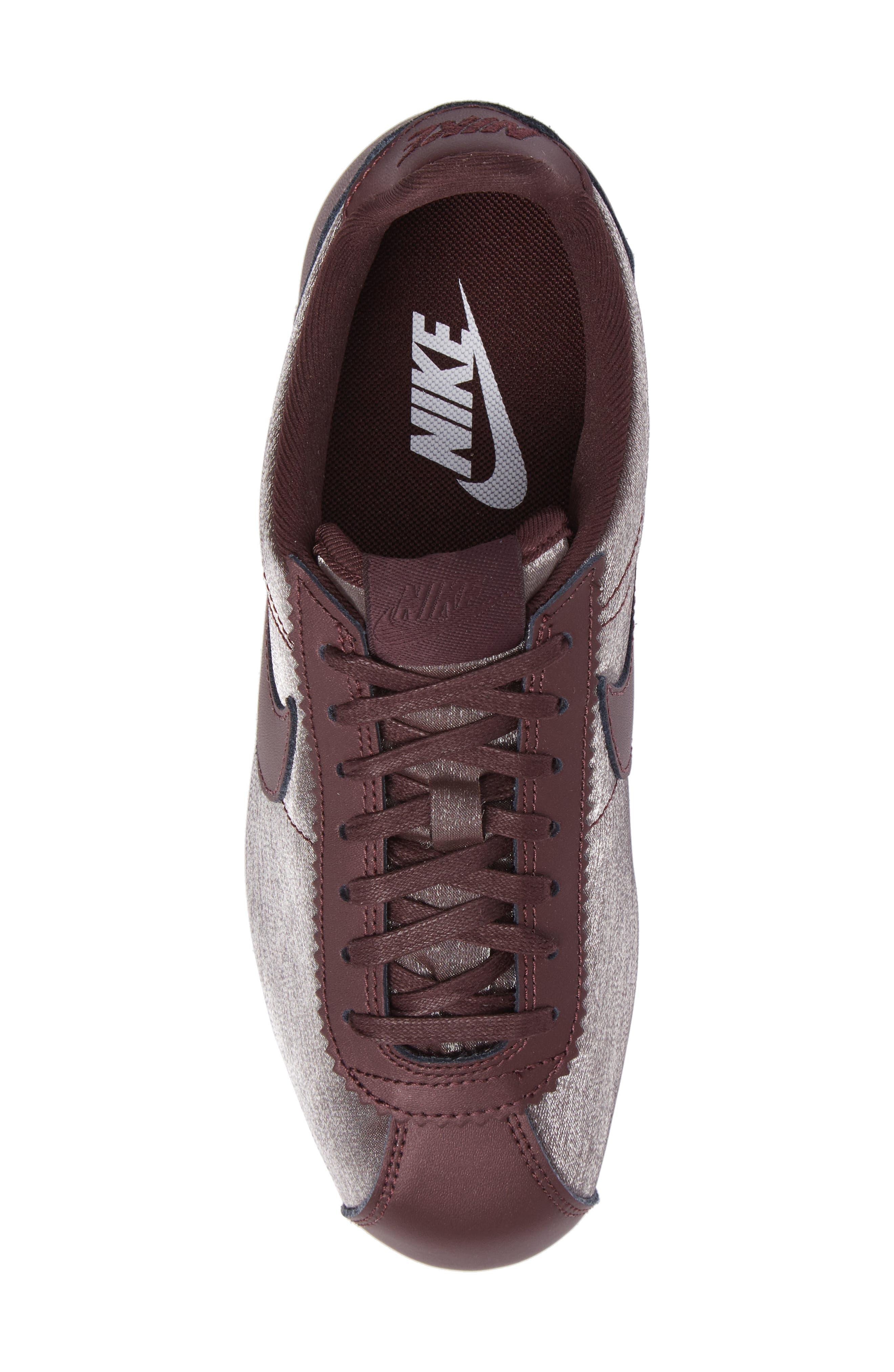 Classic Cortez Premium XLV Sneaker,                             Alternate thumbnail 3, color,                             Mahogany/ Mahogany/ White
