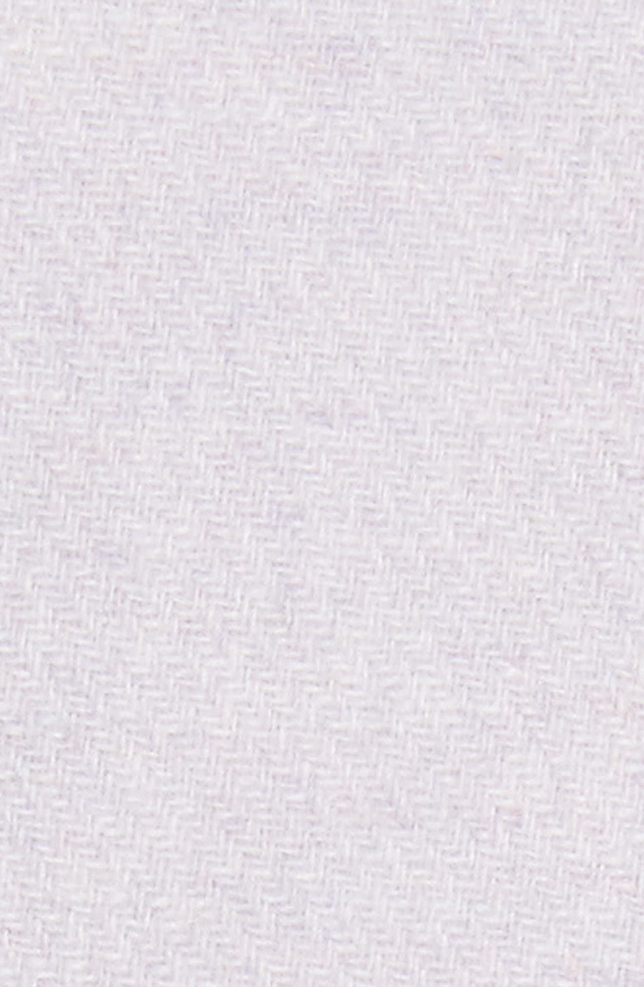Wool Blend Melton Coat,                             Alternate thumbnail 5, color,                             Dusty Lavender