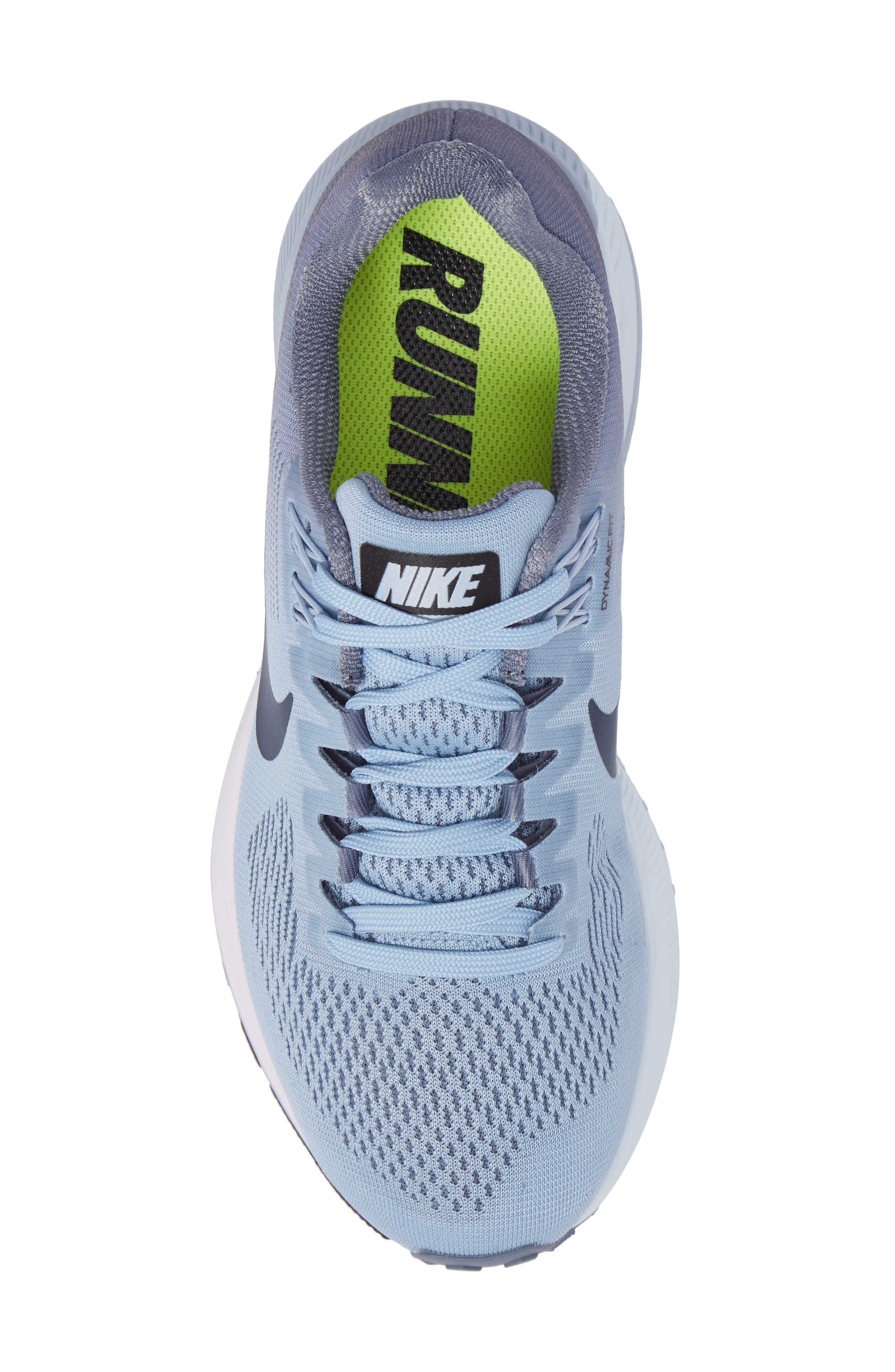Air Zoom Structure 21 Running Shoe,                             Alternate thumbnail 5, color,                             Armory Blue/ Cirrus Blue