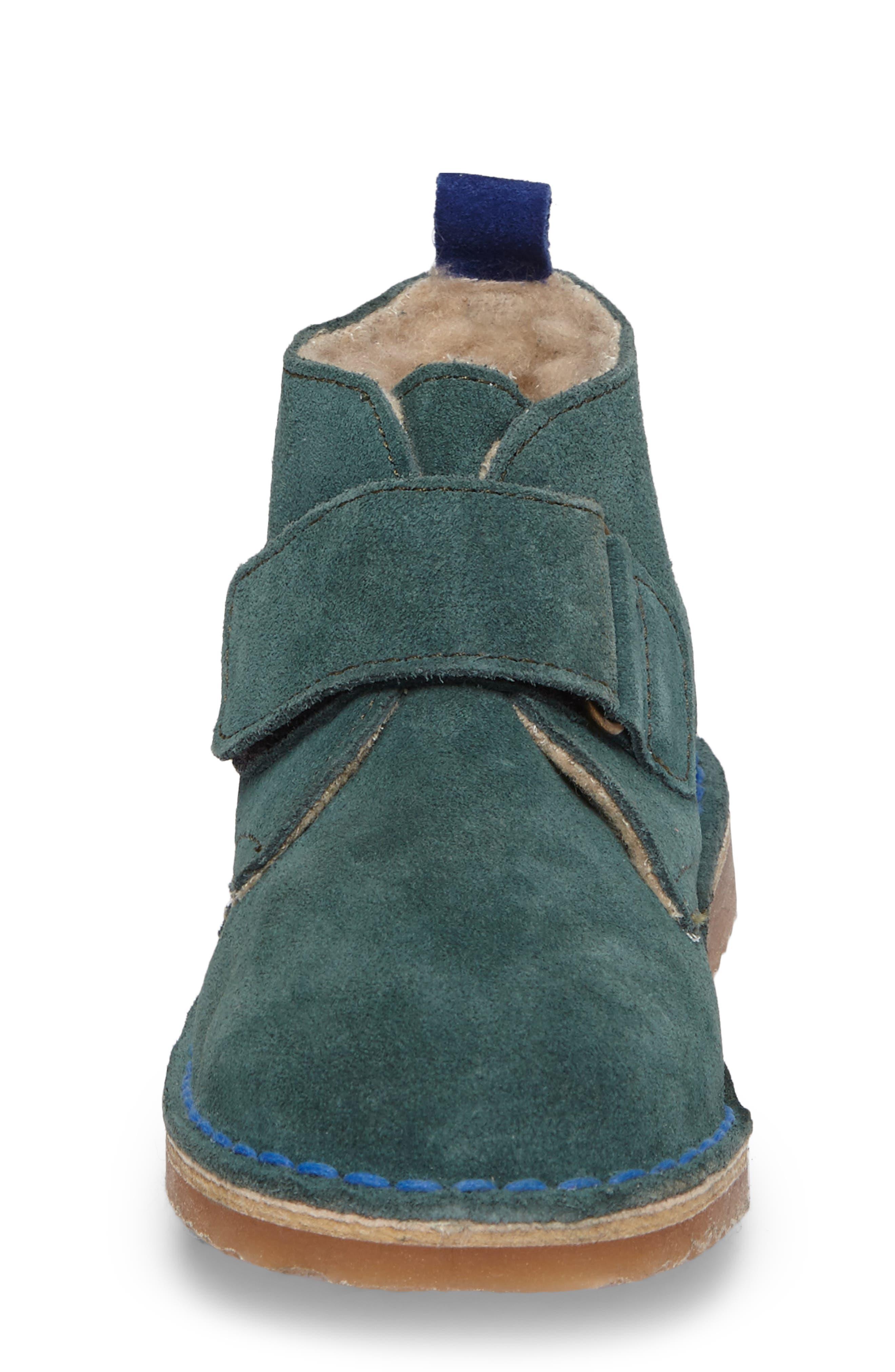 Alternate Image 4  - Mini Boden Faux Fur Desert Boot (Toddler, Little Kid & Big Kid)