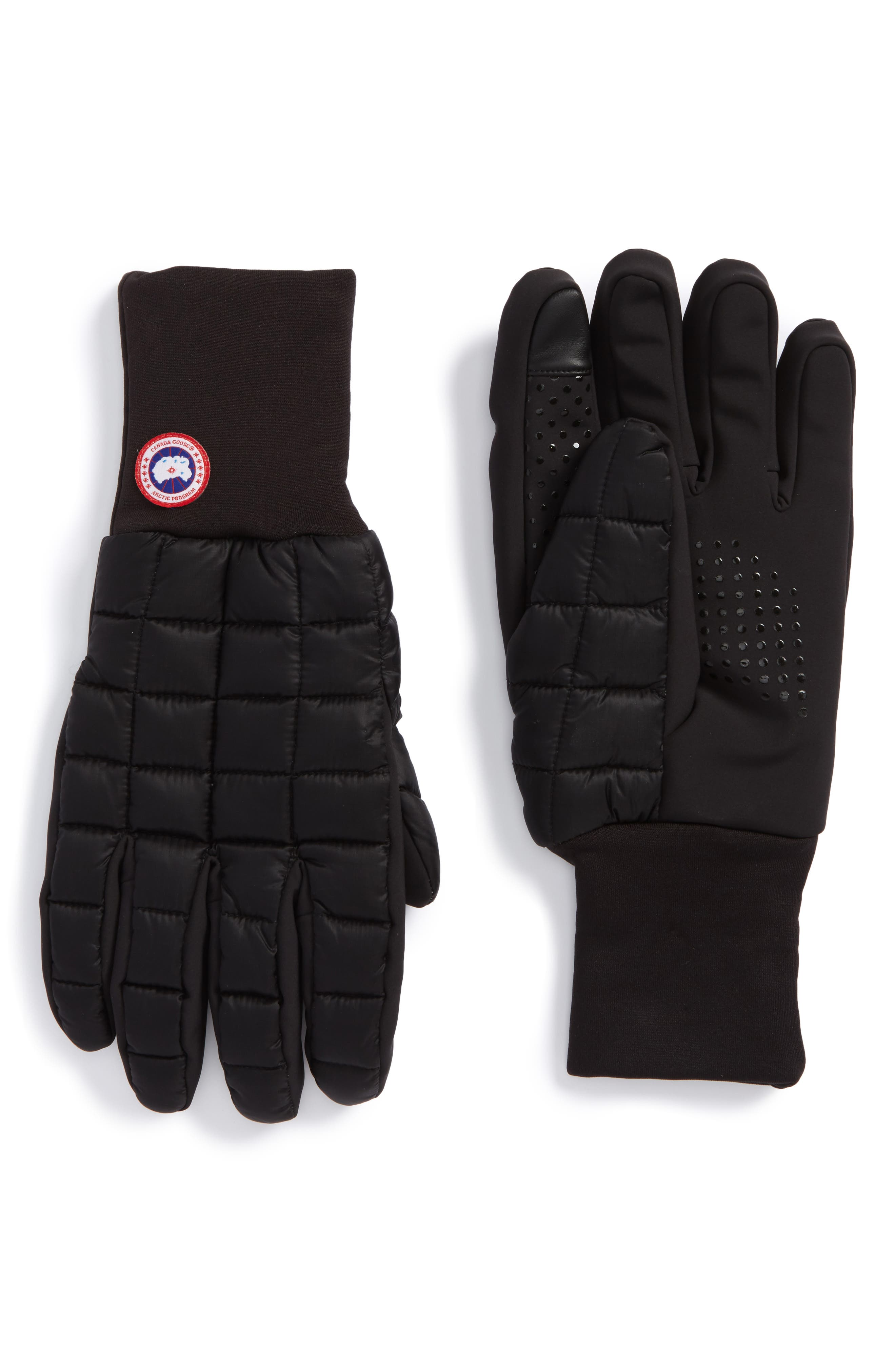 Northern Liner Gloves,                             Main thumbnail 1, color,                             Black