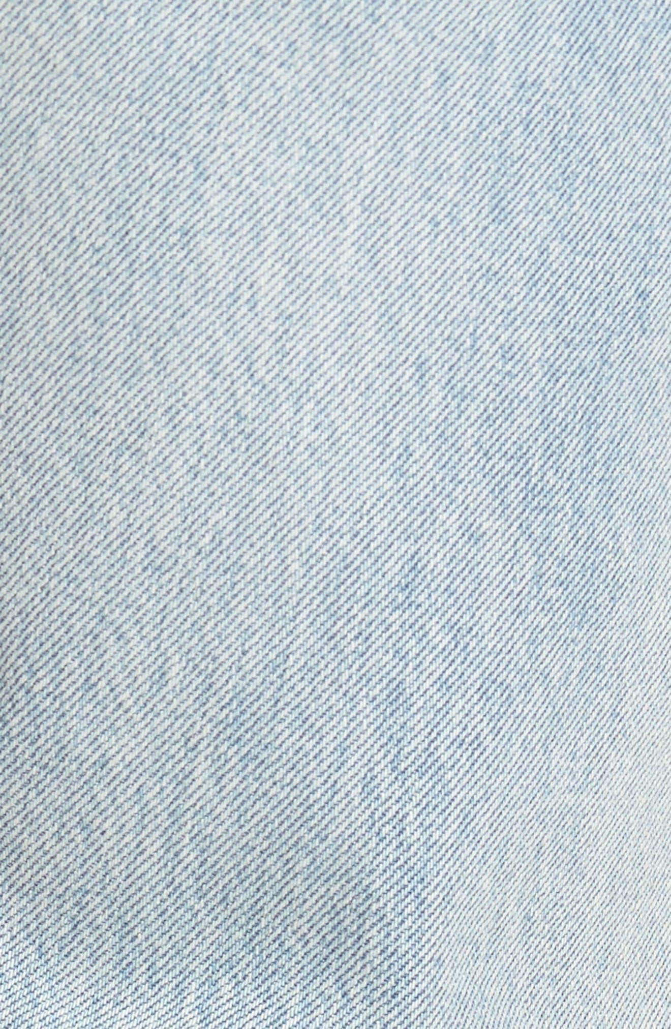 Alternate Image 5  - Levi's® 512™ Skinny Fit Crop Jeans (Medium Blue Surf Ave)