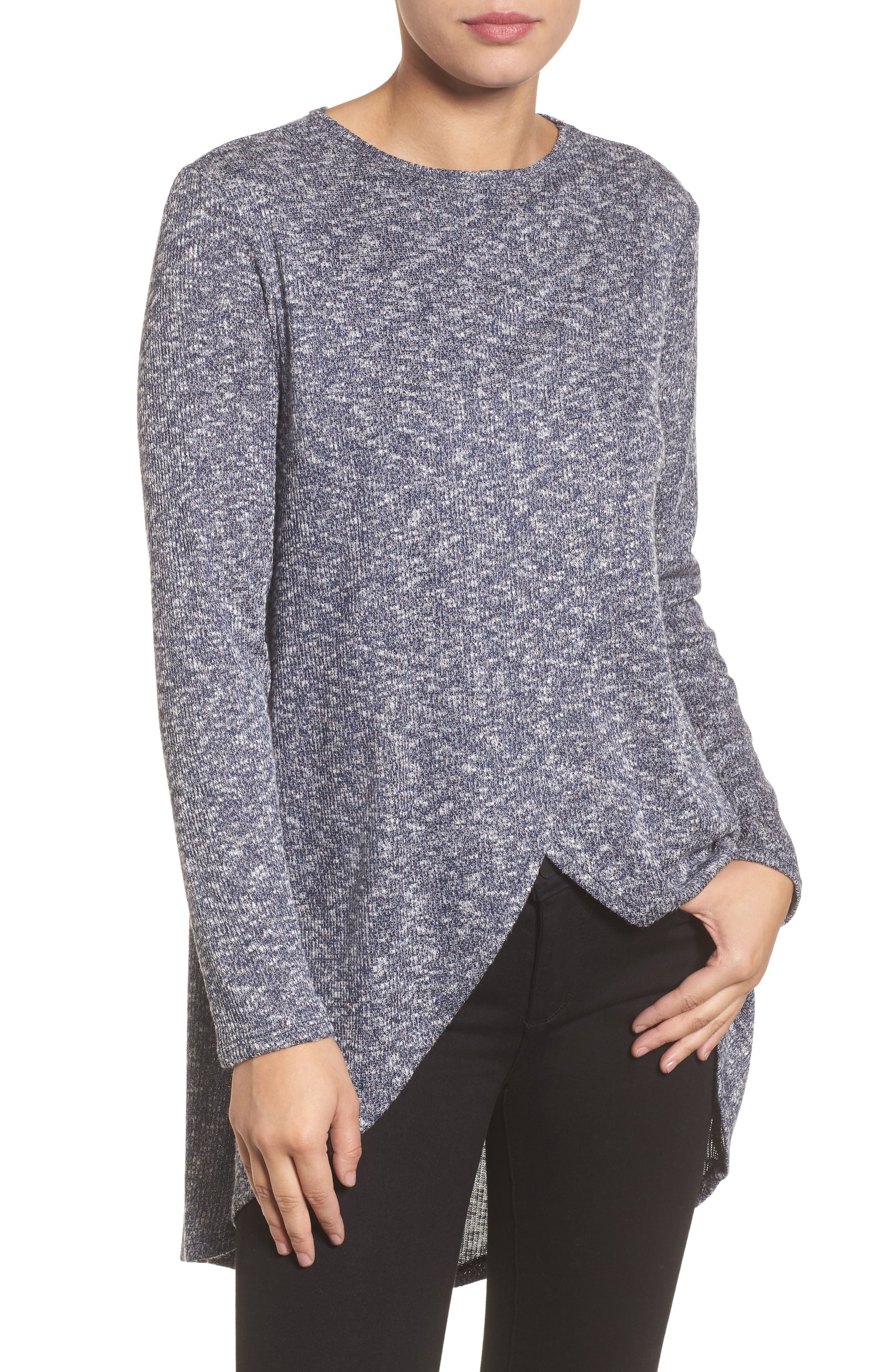 Caslon® High/Low Tunic Top