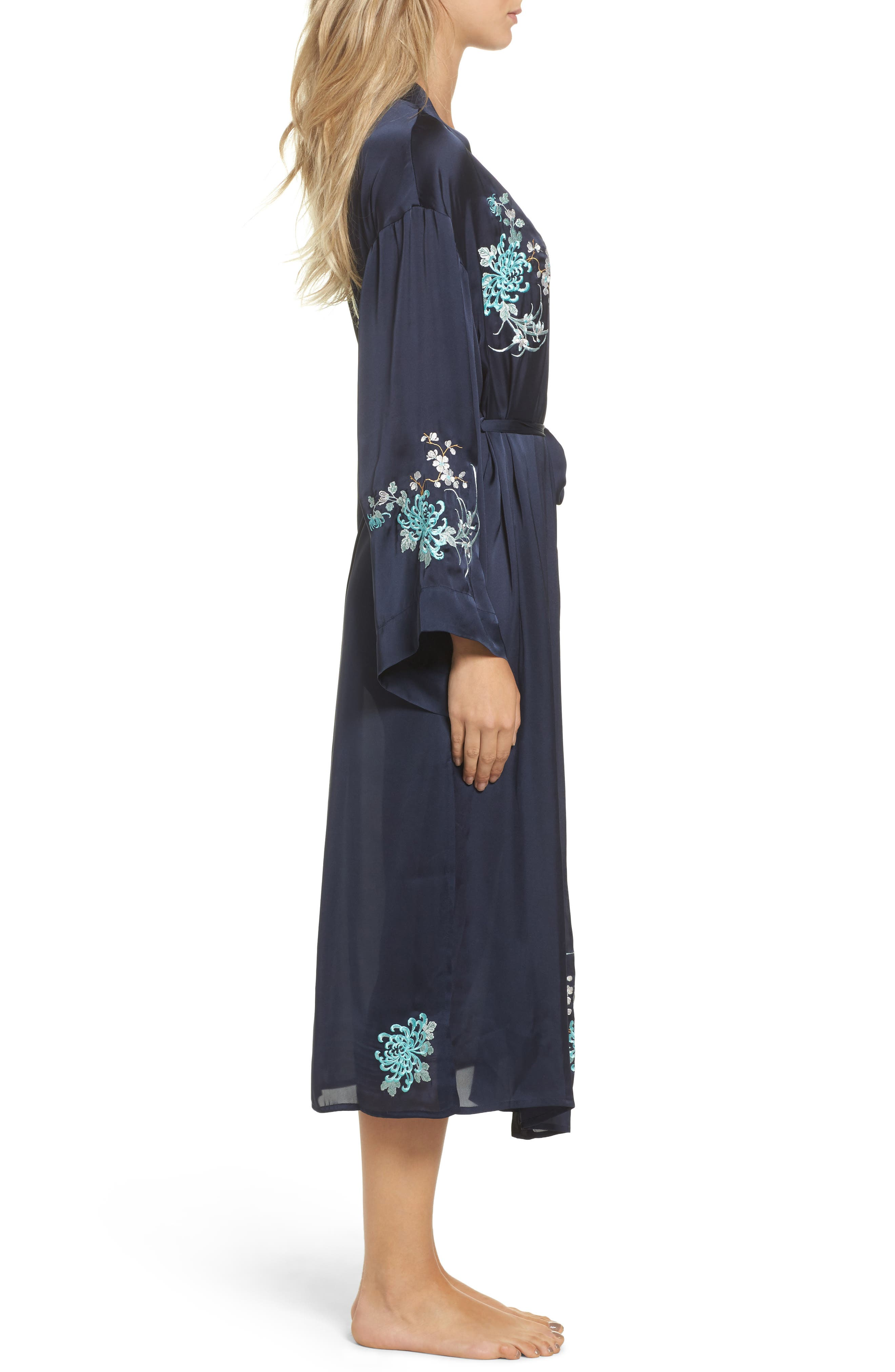 Alternate Image 3  - Chelsea28 Embroidered Long Robe