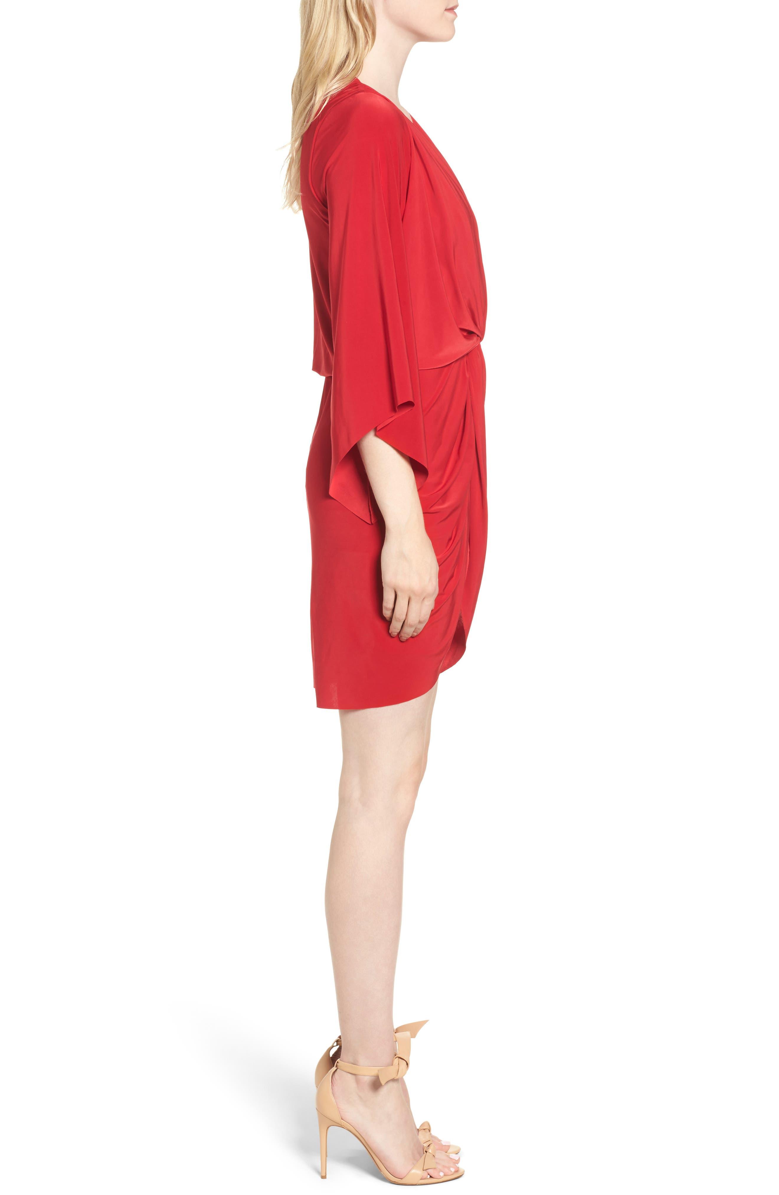 Alternate Image 3  - MISA Los Angeles Teget Knot Front Dress