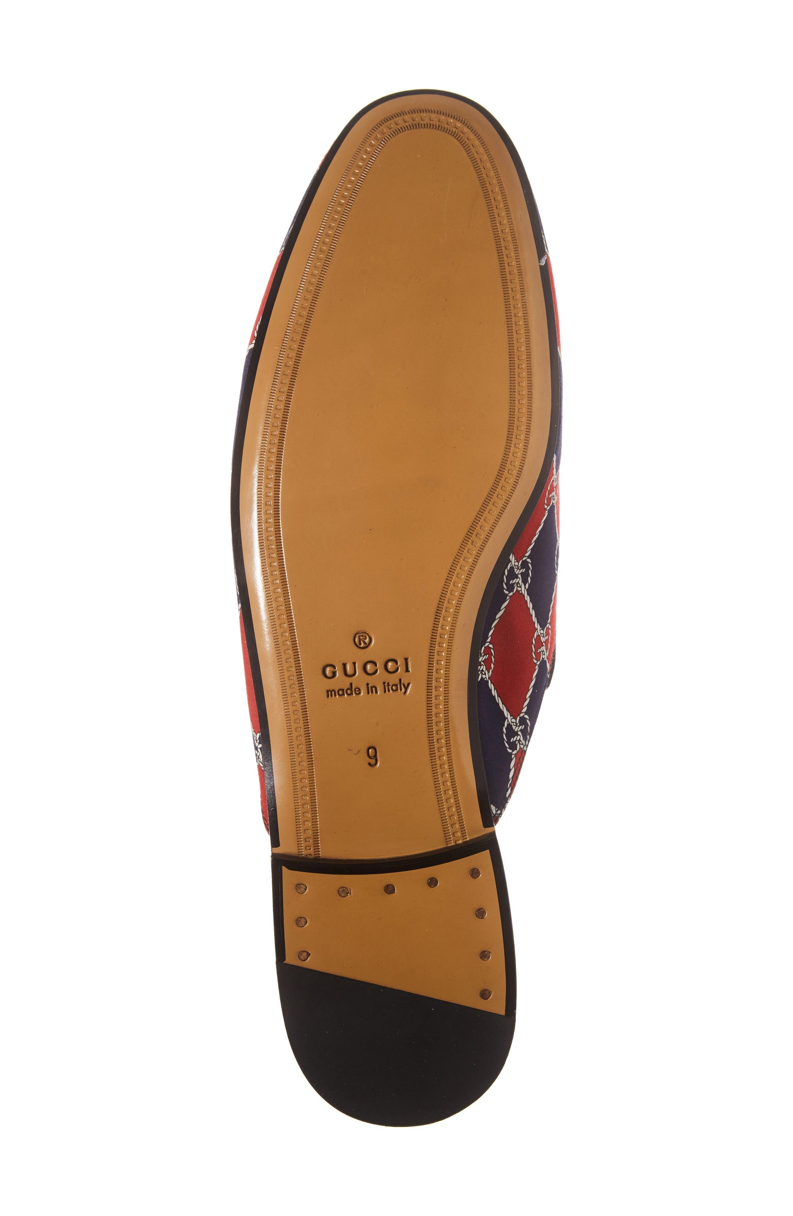 Alternate Image 6  - Gucci King's Harlequin Bit Loafer (Men)