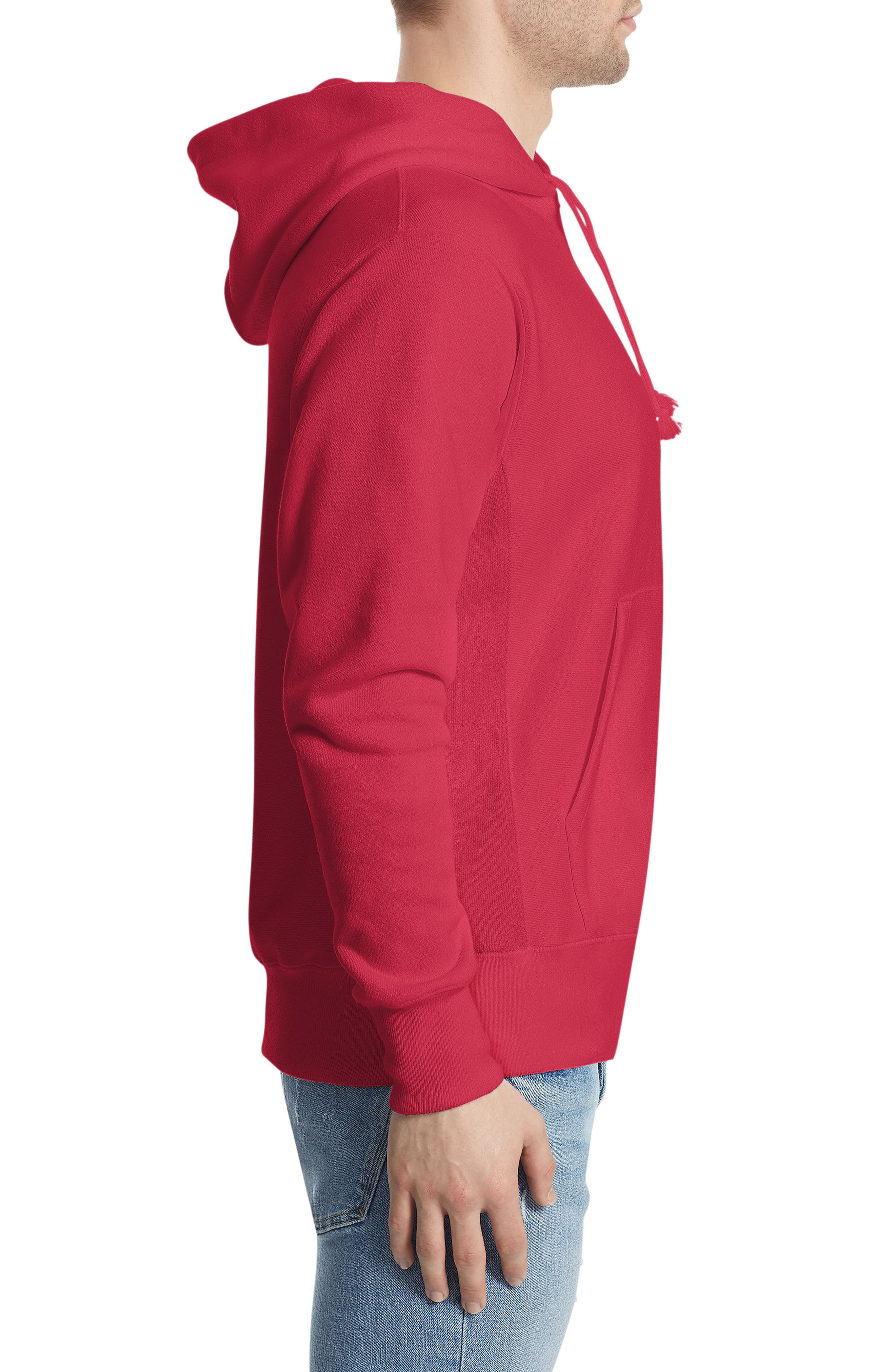 Alternate Image 3  - Champion Reverse Weave® Pullover Hoodie
