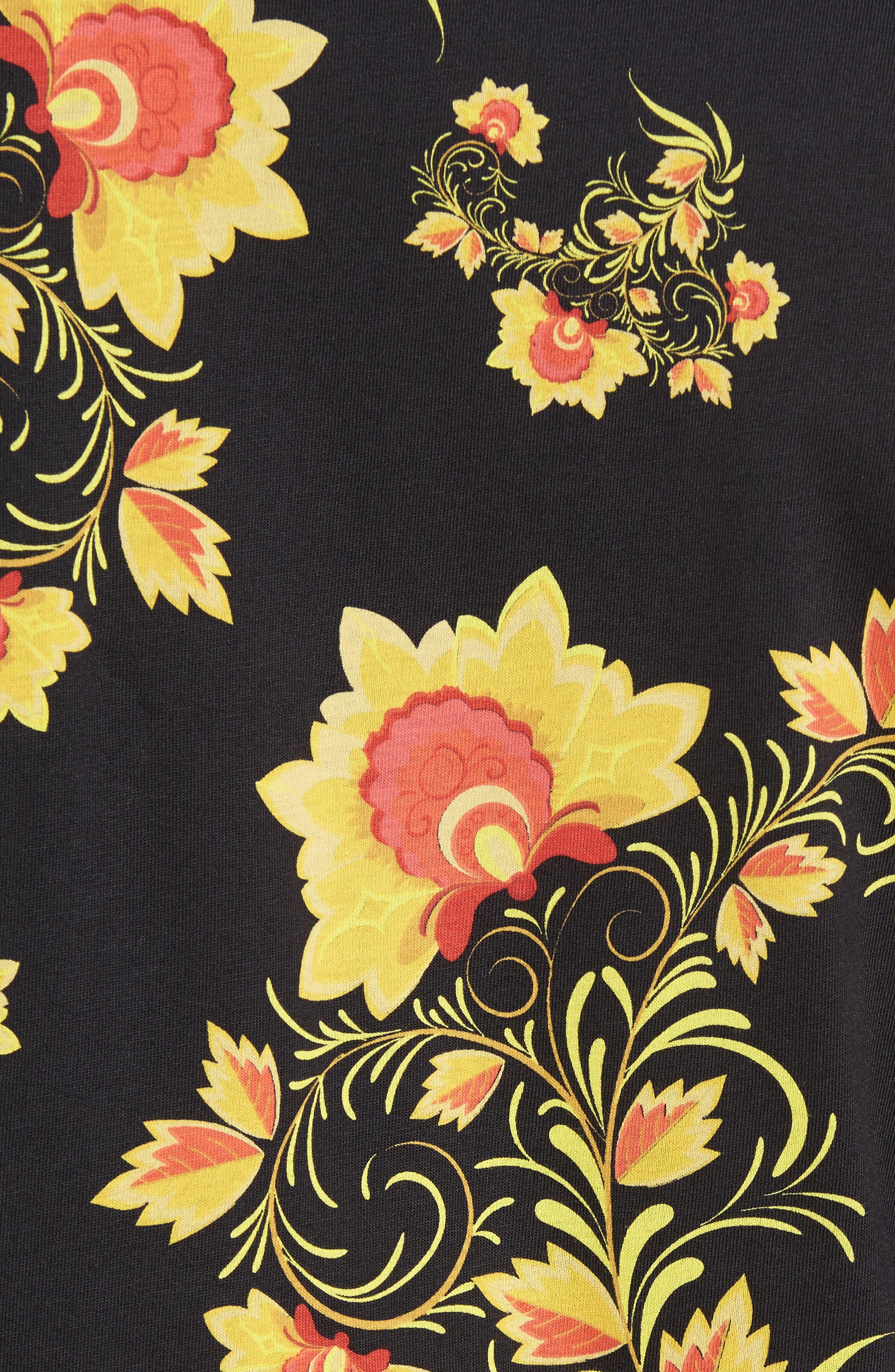 NSW Concept T-Shirt,                             Alternate thumbnail 5, color,                             Black/ Tour Yellow