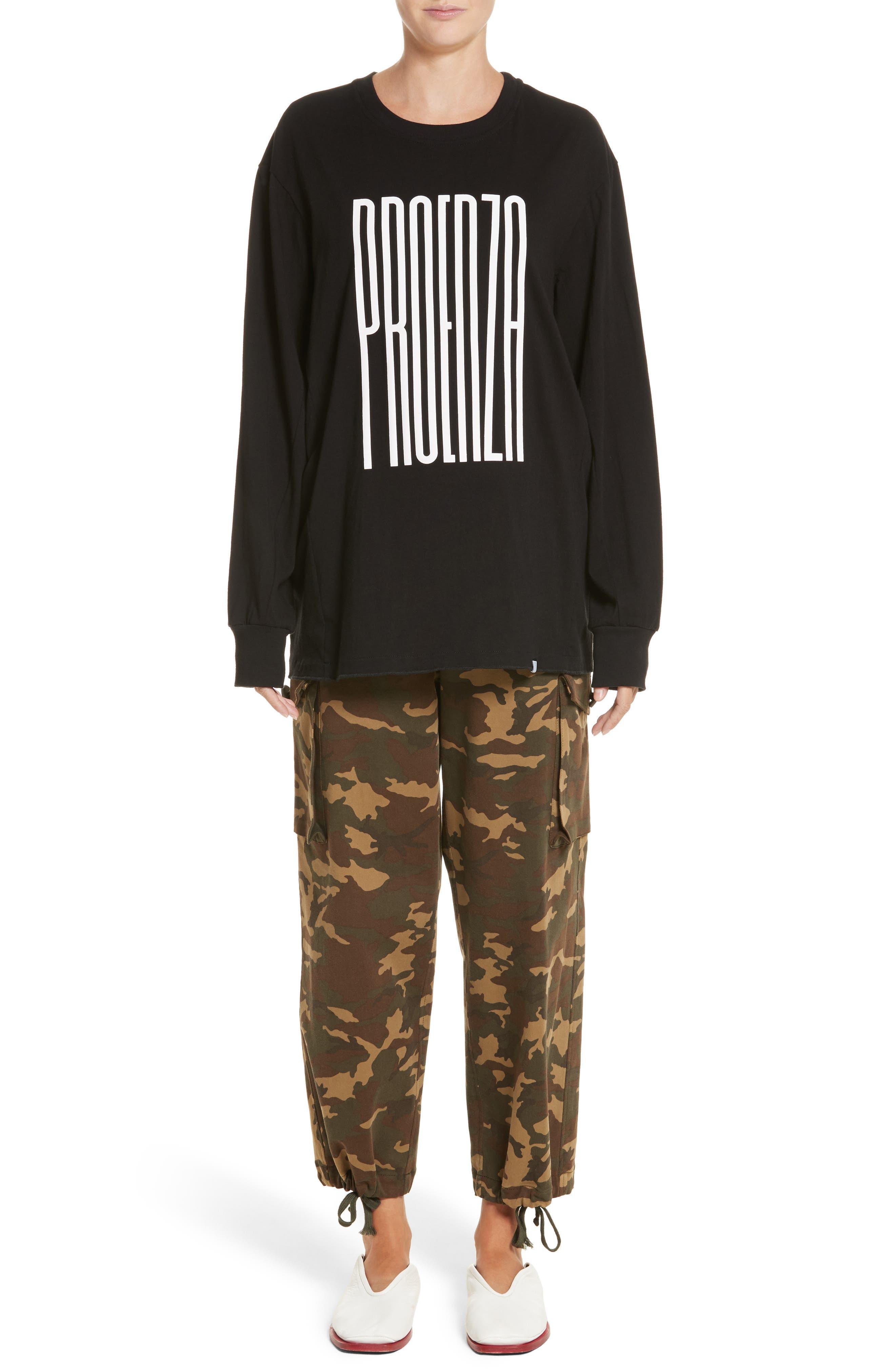Alternate Image 7  - Proenza Schouler PSWL Camouflage Stretch Cotton Pants