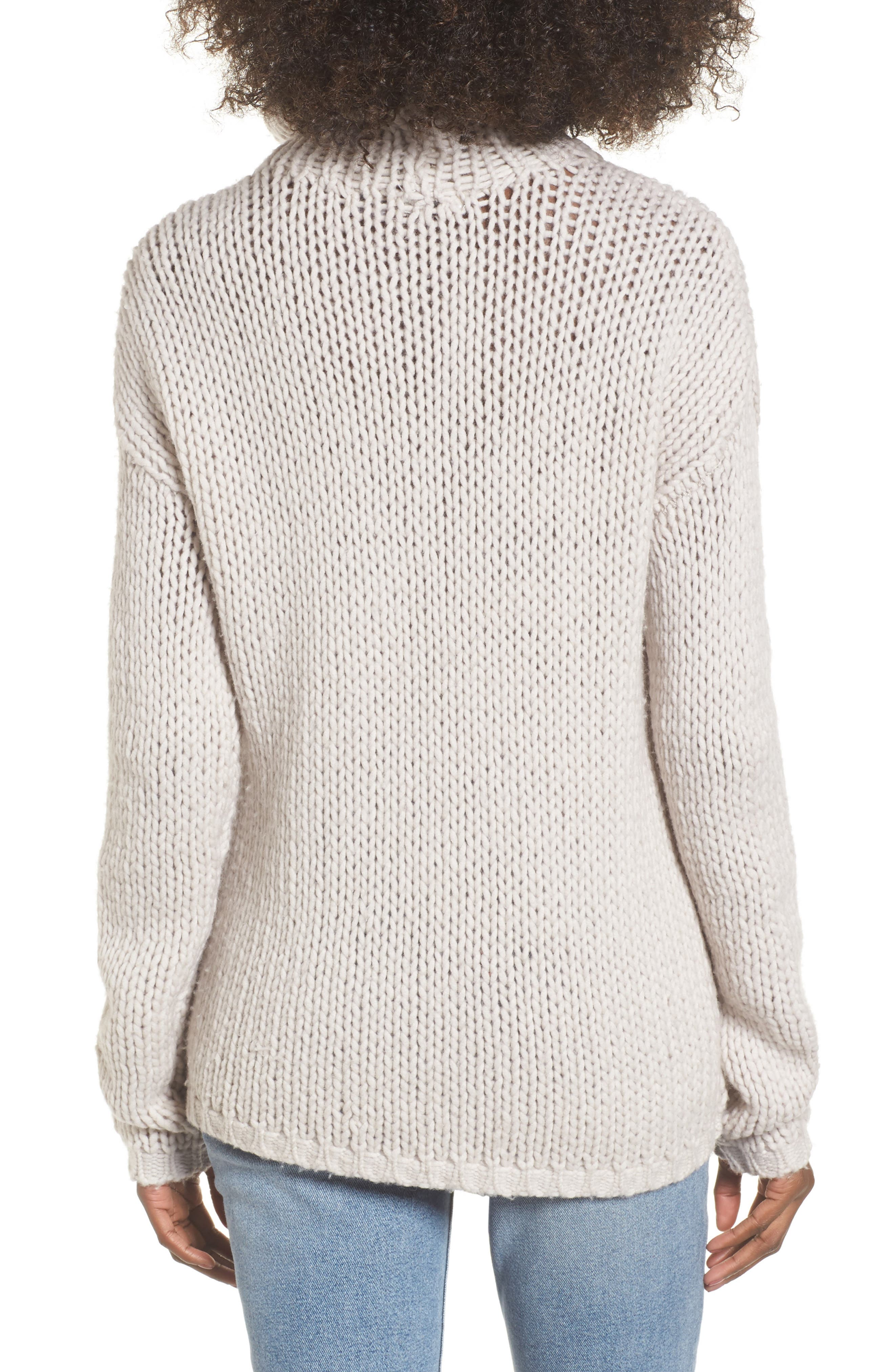 Hawken Turtleneck Sweater,                             Alternate thumbnail 2, color,                             Pearl
