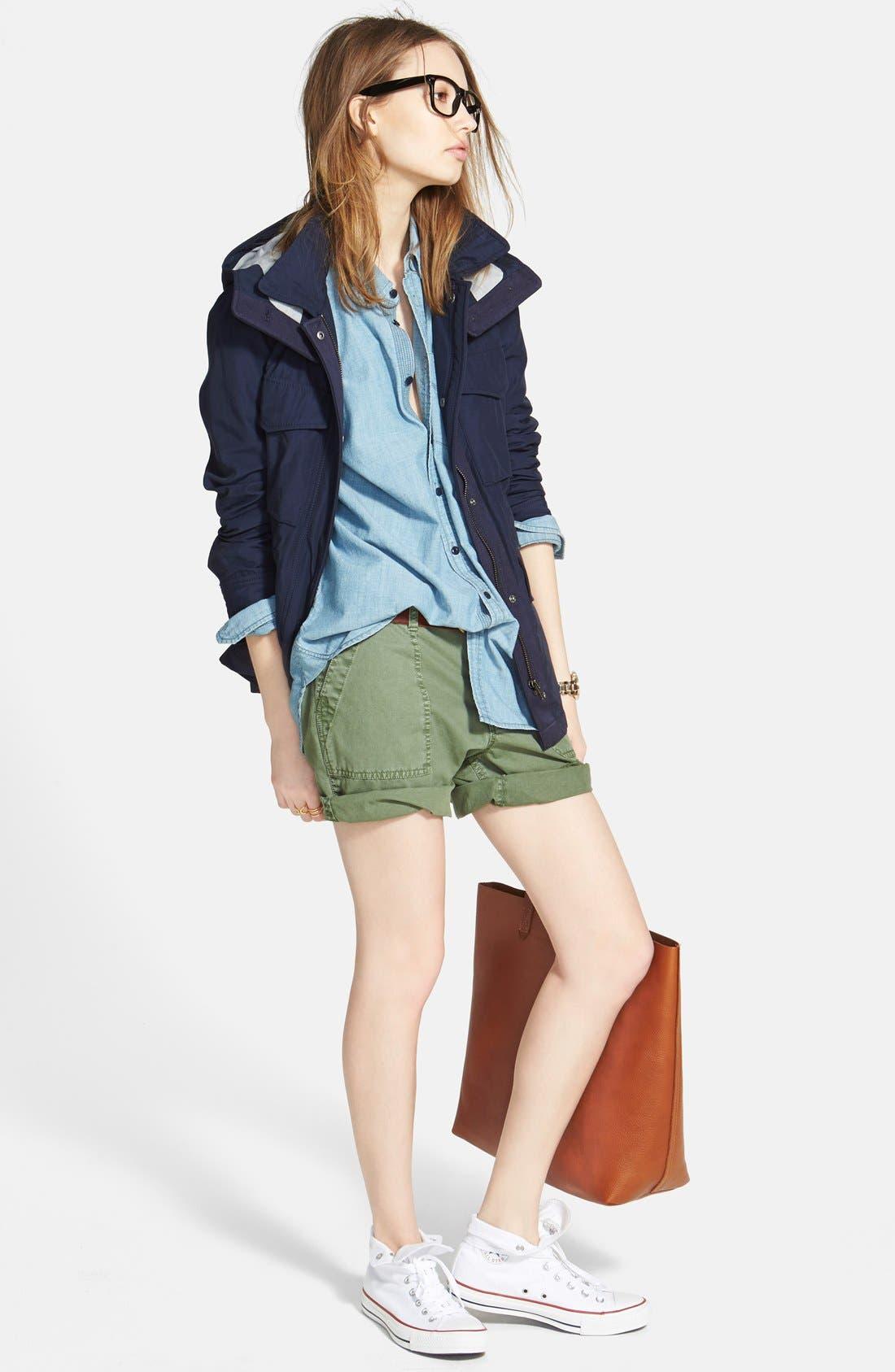 Alternate Image 4  - Madewell 'Fieldwalk' Hooded Jacket