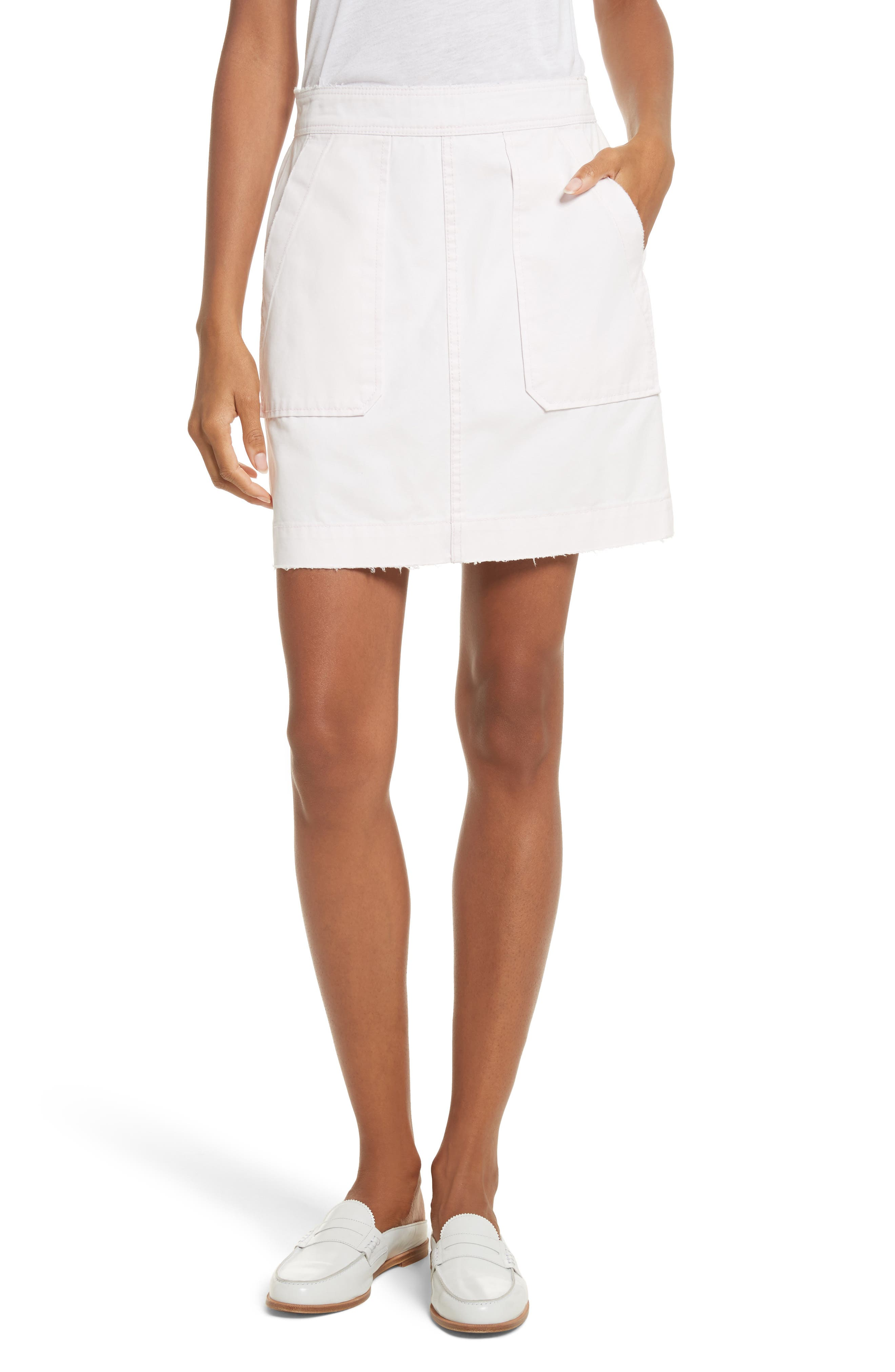 La Vie Rebecca Taylor Army Twill Skirt