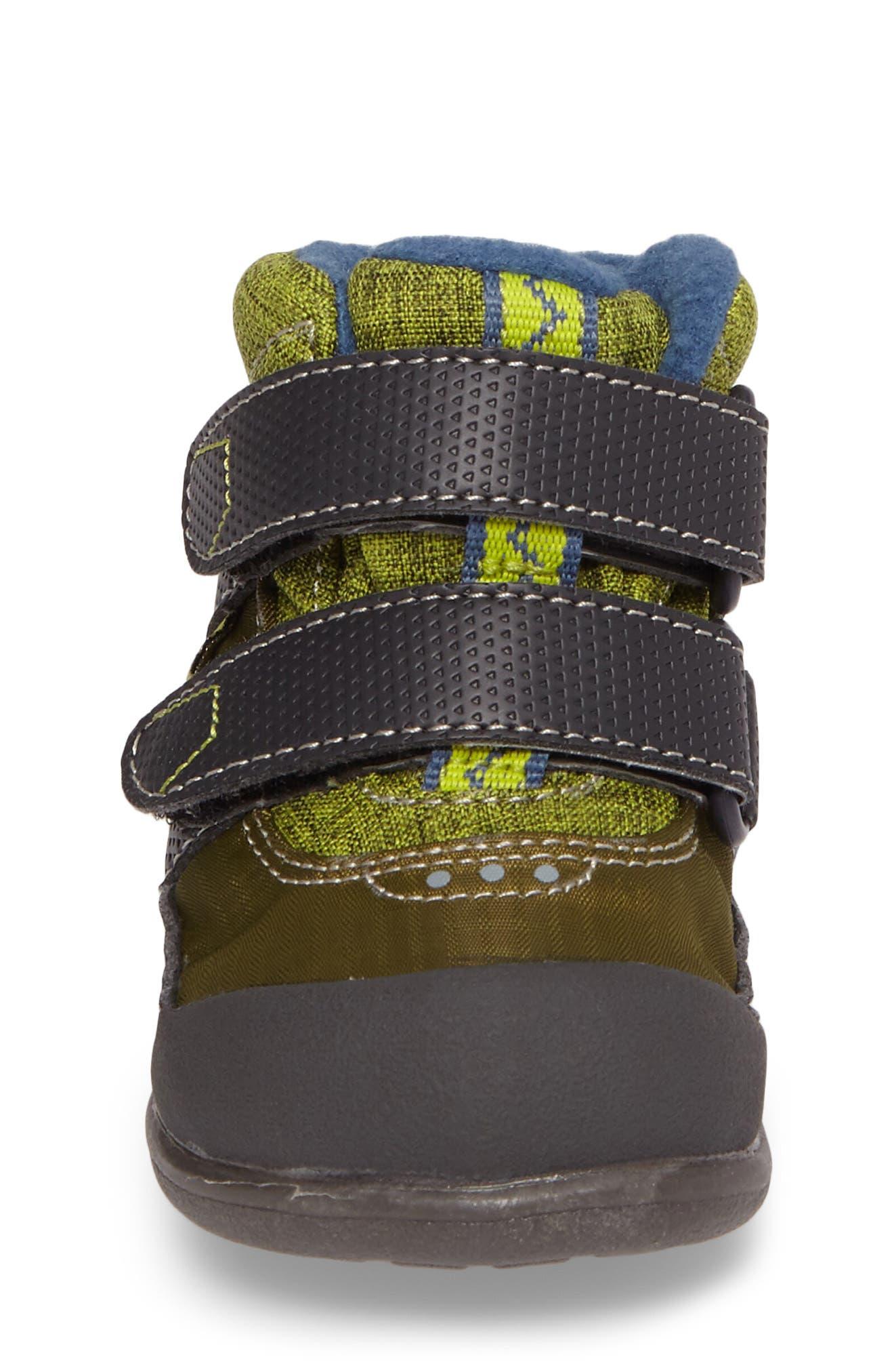 Atlas Waterproof Boot,                             Alternate thumbnail 4, color,                             Green
