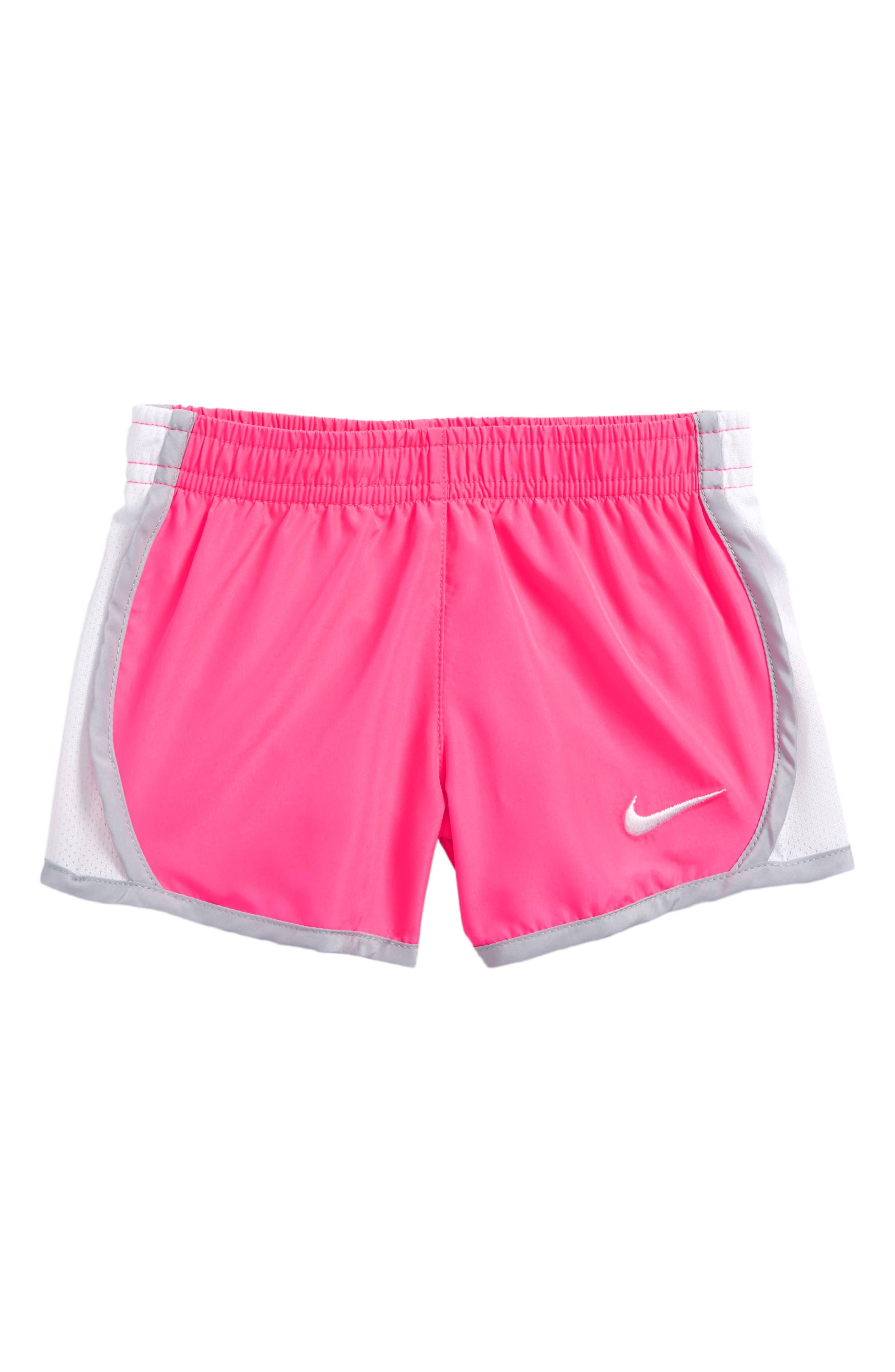 Main Image - Nike 'Tempo' Dri-FIT Shorts (Baby Girls)