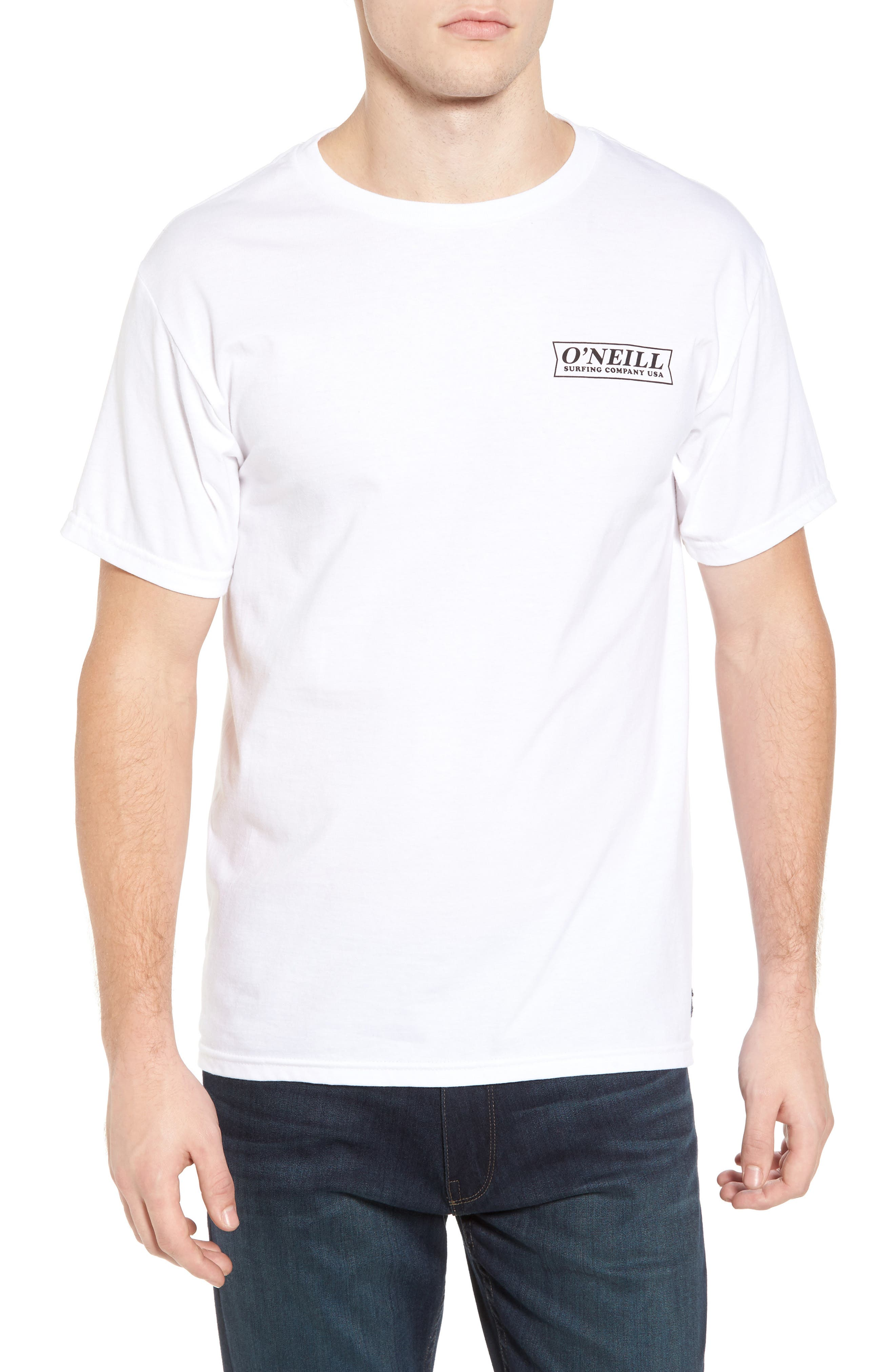 Teamsters Logo Graphic T-Shirt,                             Main thumbnail 1, color,                             White