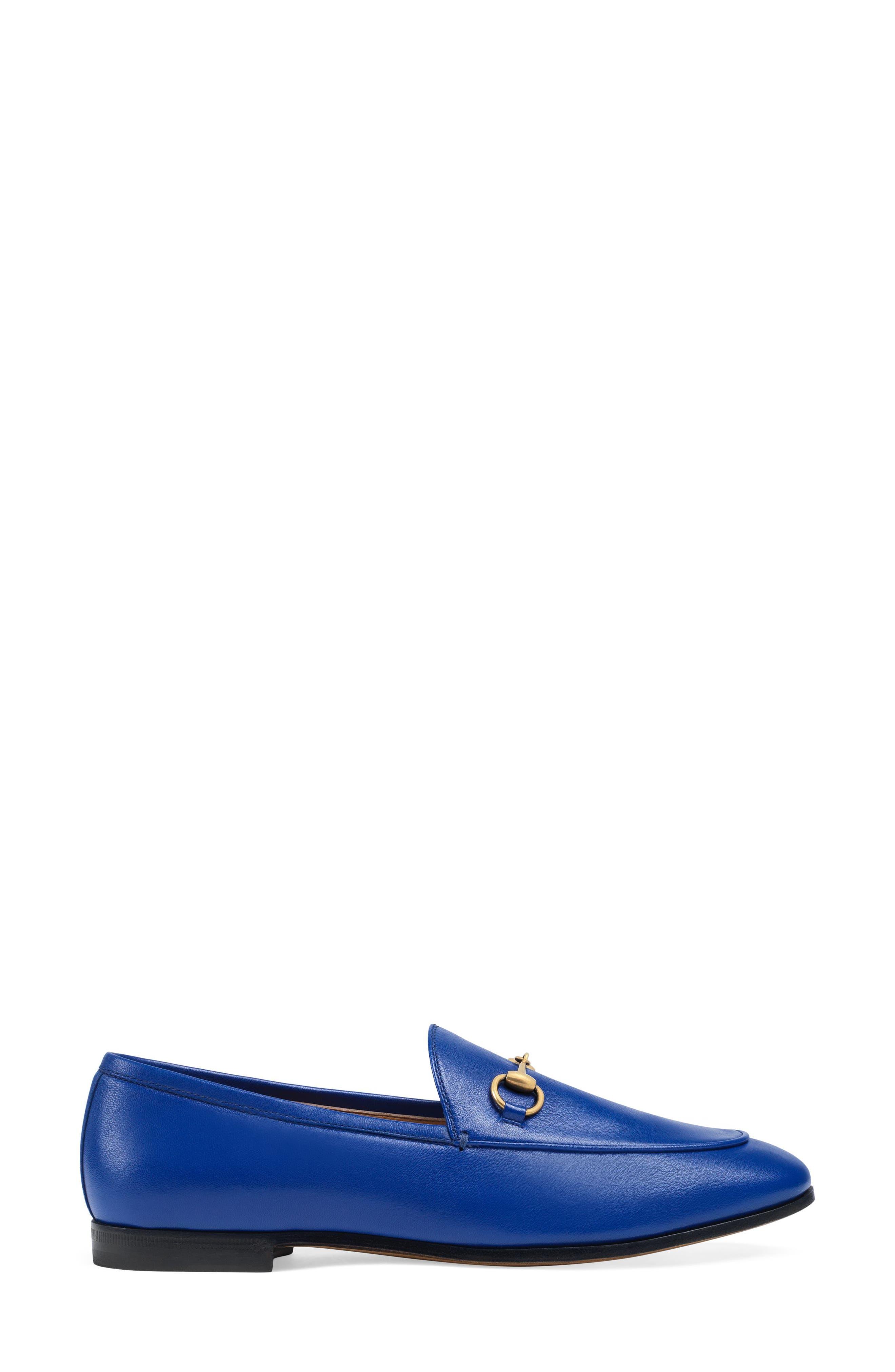 Alternate Image 2  - Gucci 'Jordaan' Loafer (Women)