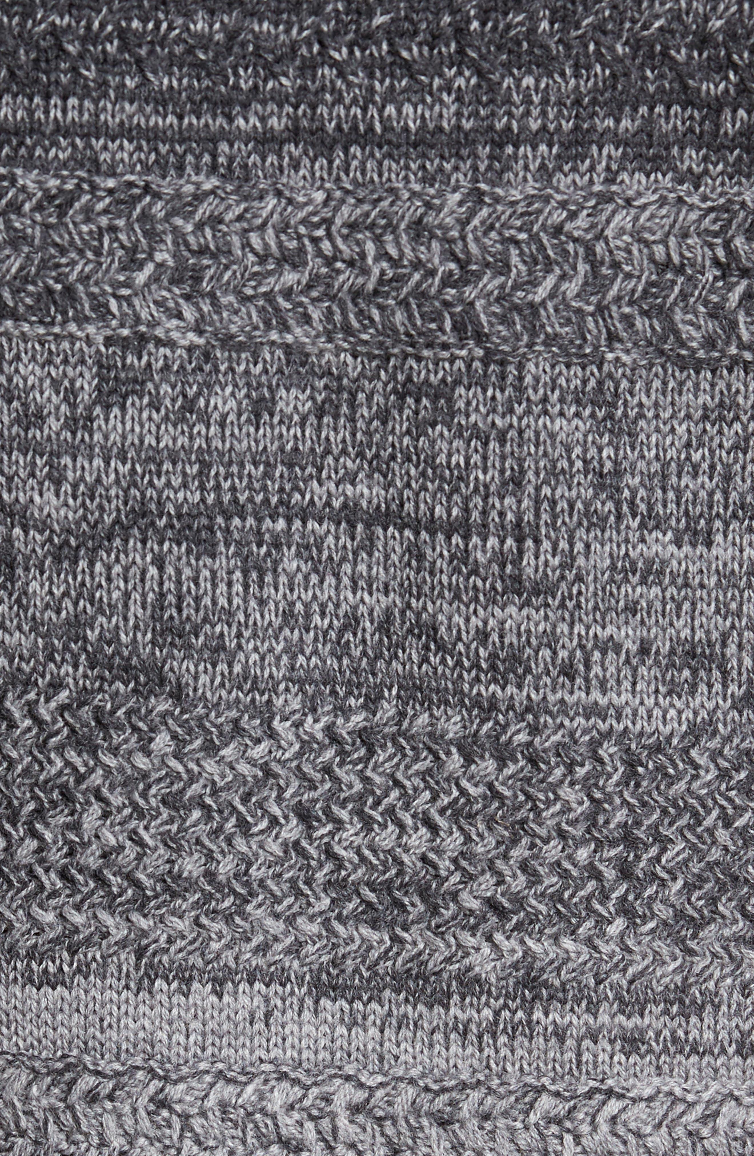 Hawkins Degrade Merino Full Zip Cardigan,                             Alternate thumbnail 5, color,                             Grey