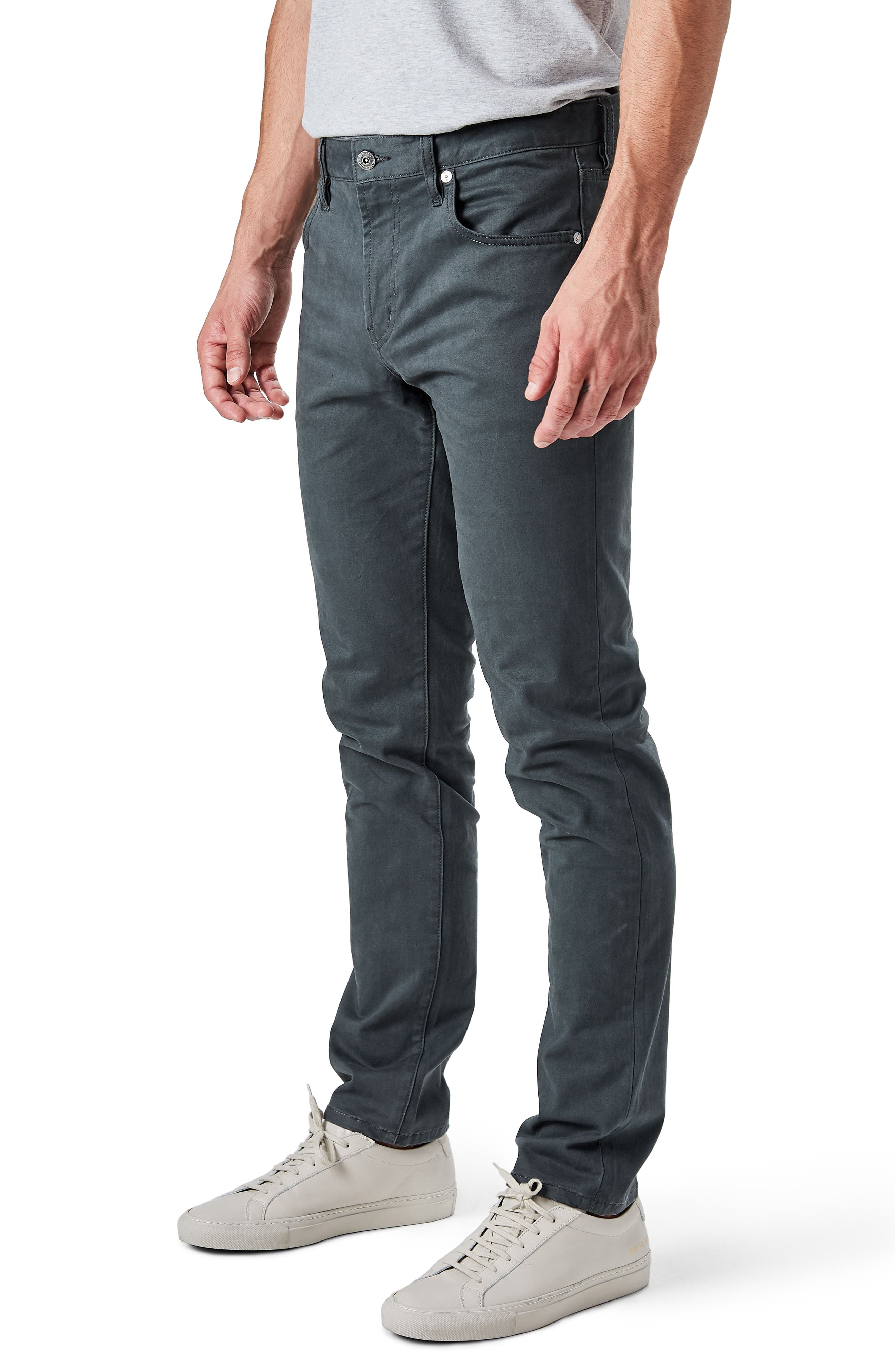 Alternate Image 3  - 7 Diamonds Brushed Twill Five-Pocket Pants