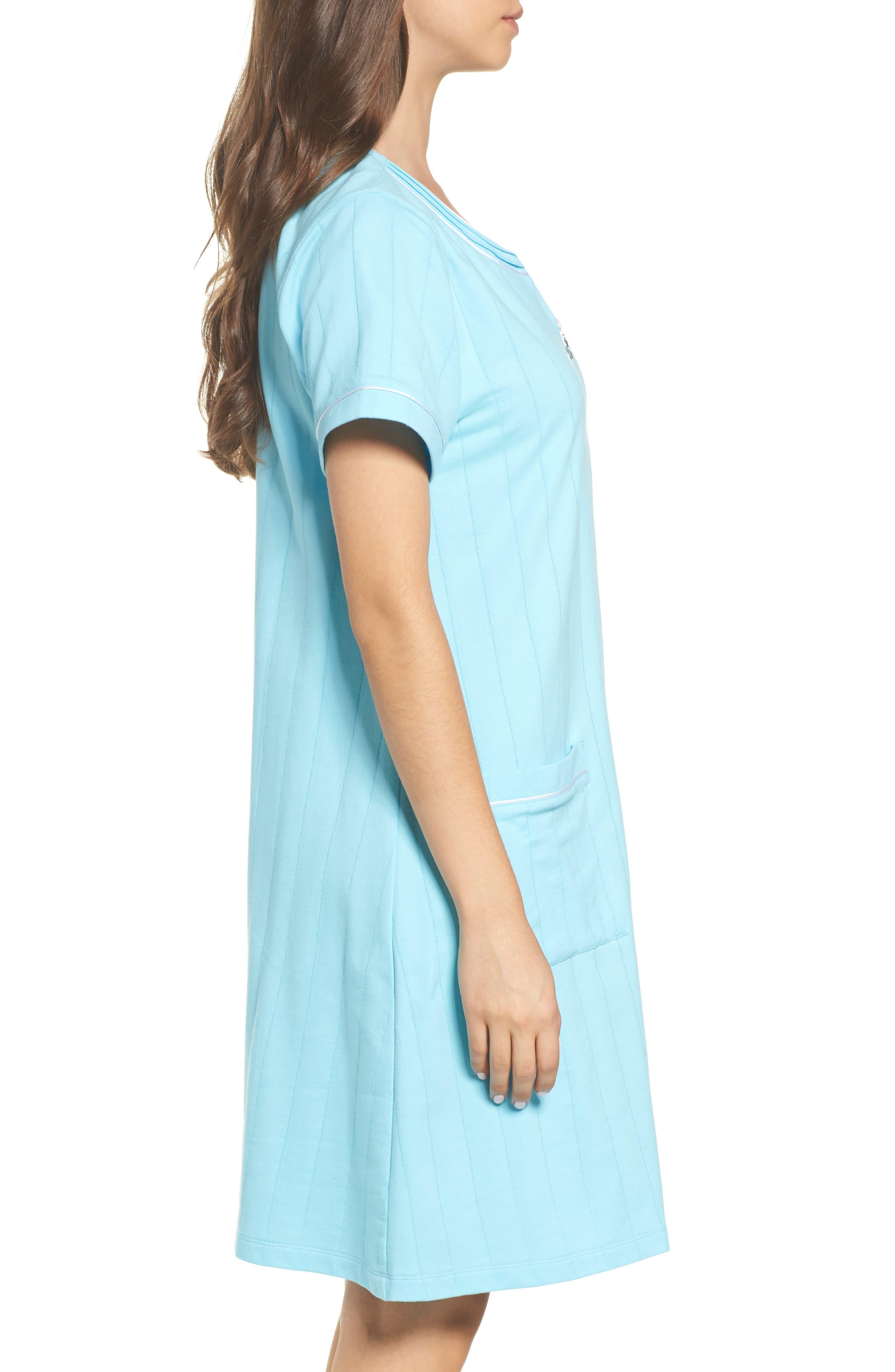 Alternate Image 3  - Eileen West Short Zip Robe