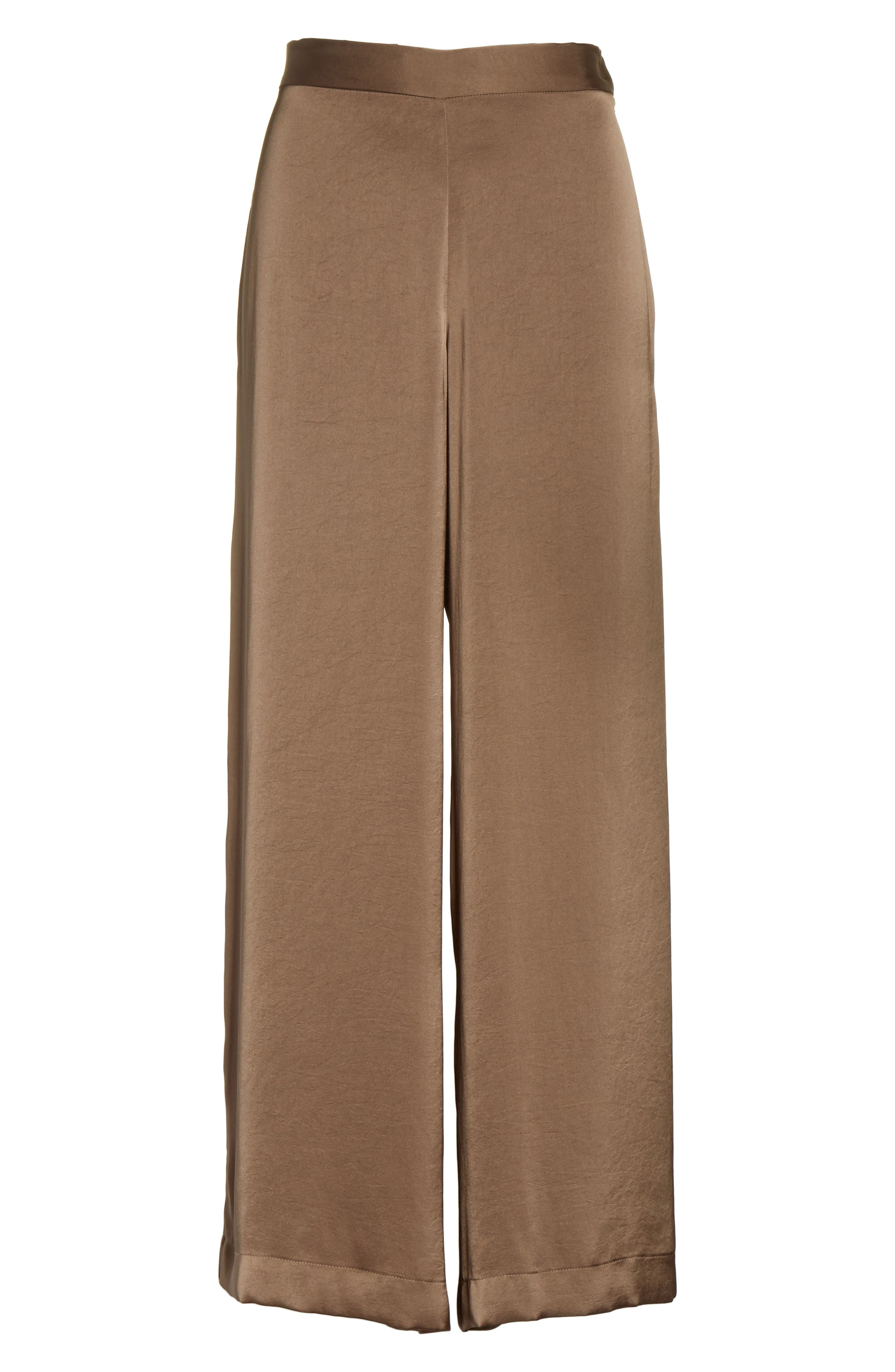 Alternate Image 6  - Rachel Comey Cleric Satin Wide Leg Pants