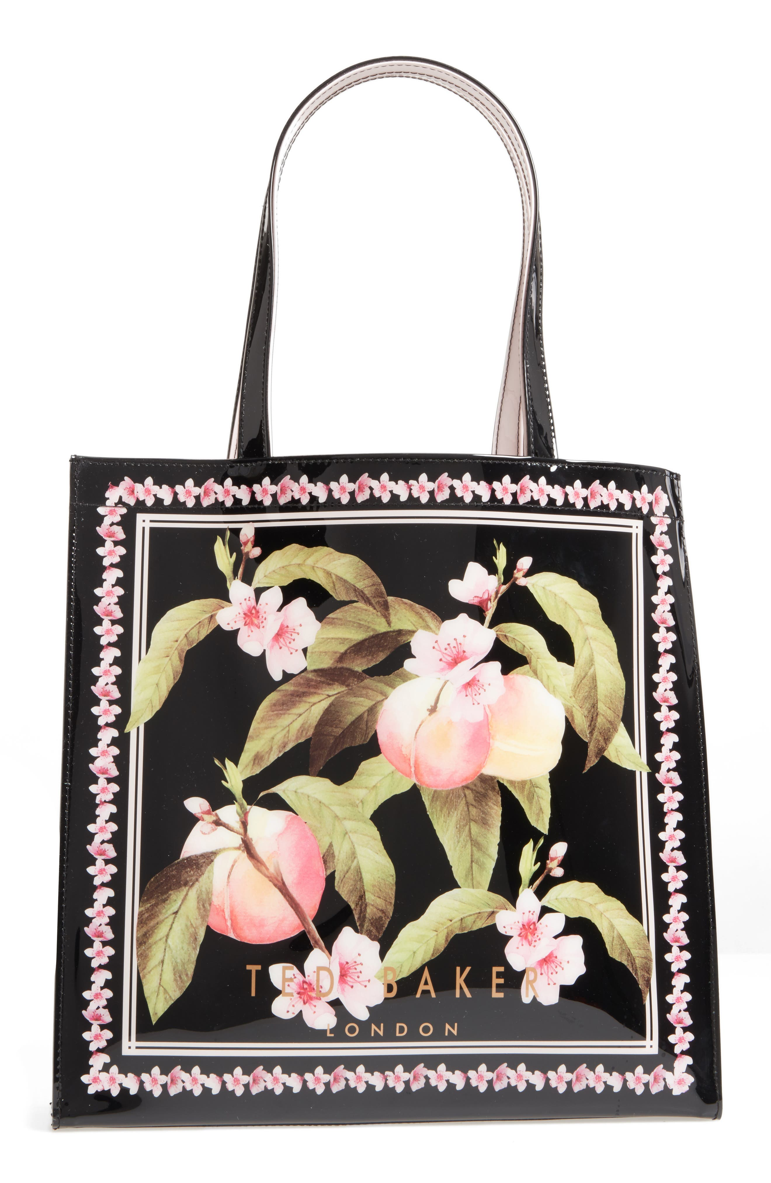 Alternate Image 3  - Ted Baker London Large Icon - Macon Peach Blossom Tote