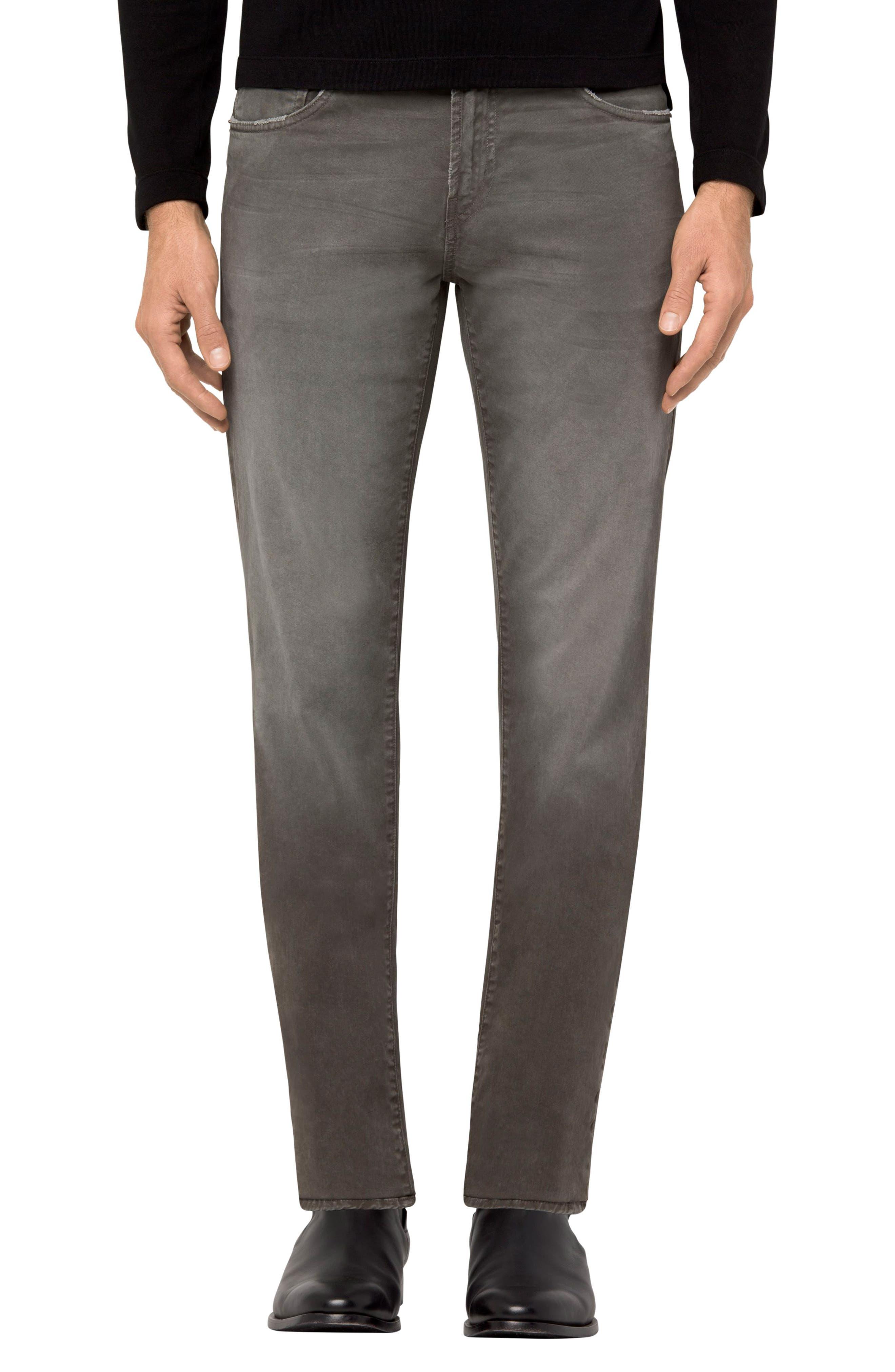 J Brand Tyler Slim Fit Jeans (Thrashed Catapult)