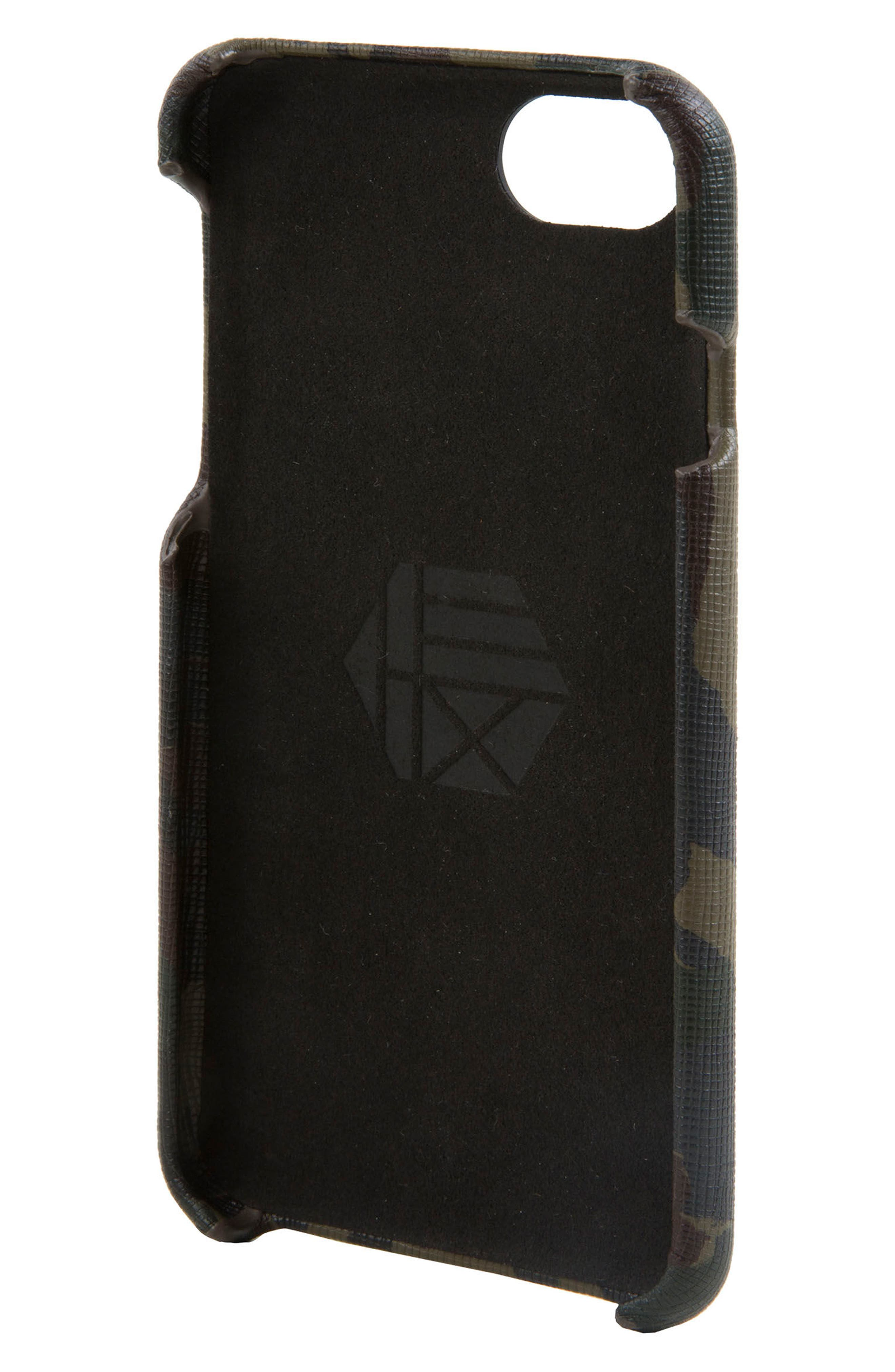 Solo iPhone 6/6s/7/8 Wallet Case,                             Alternate thumbnail 2, color,                             Camo/ Reflective