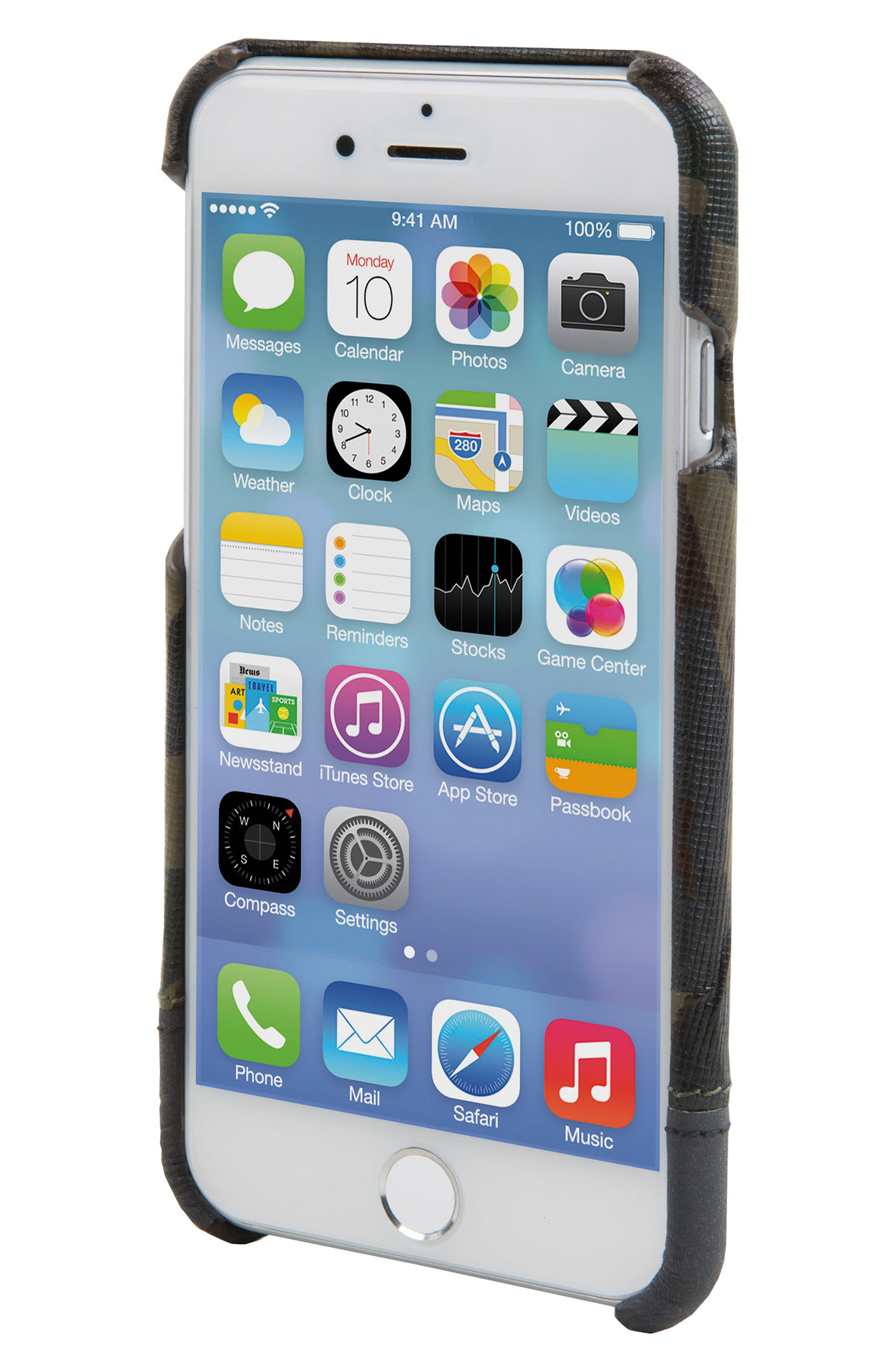 Focus iPhone 7/8 Case,                             Alternate thumbnail 3, color,                             Camo/ Reflective