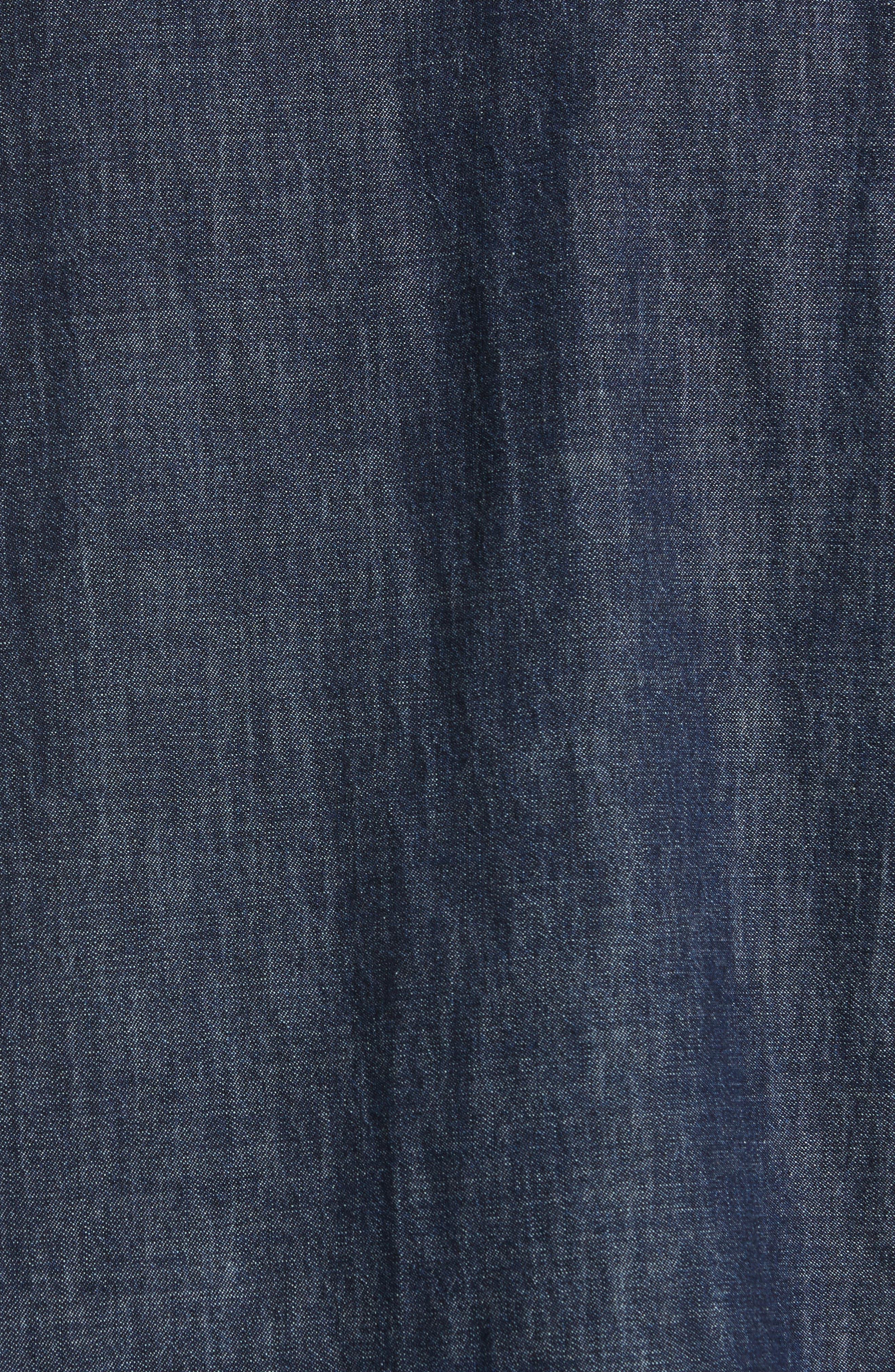 Alternate Image 5  - rag & bone Beck Denim Shirt