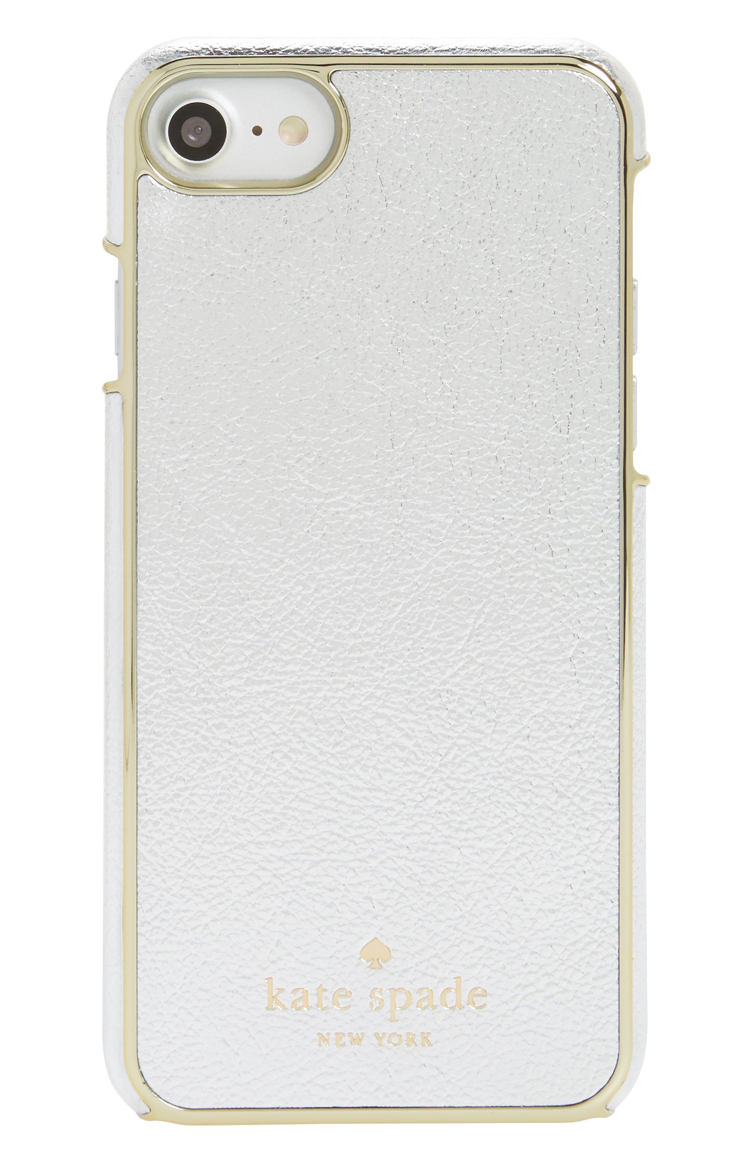 kate spade new york metallic iPhone 7/8 case