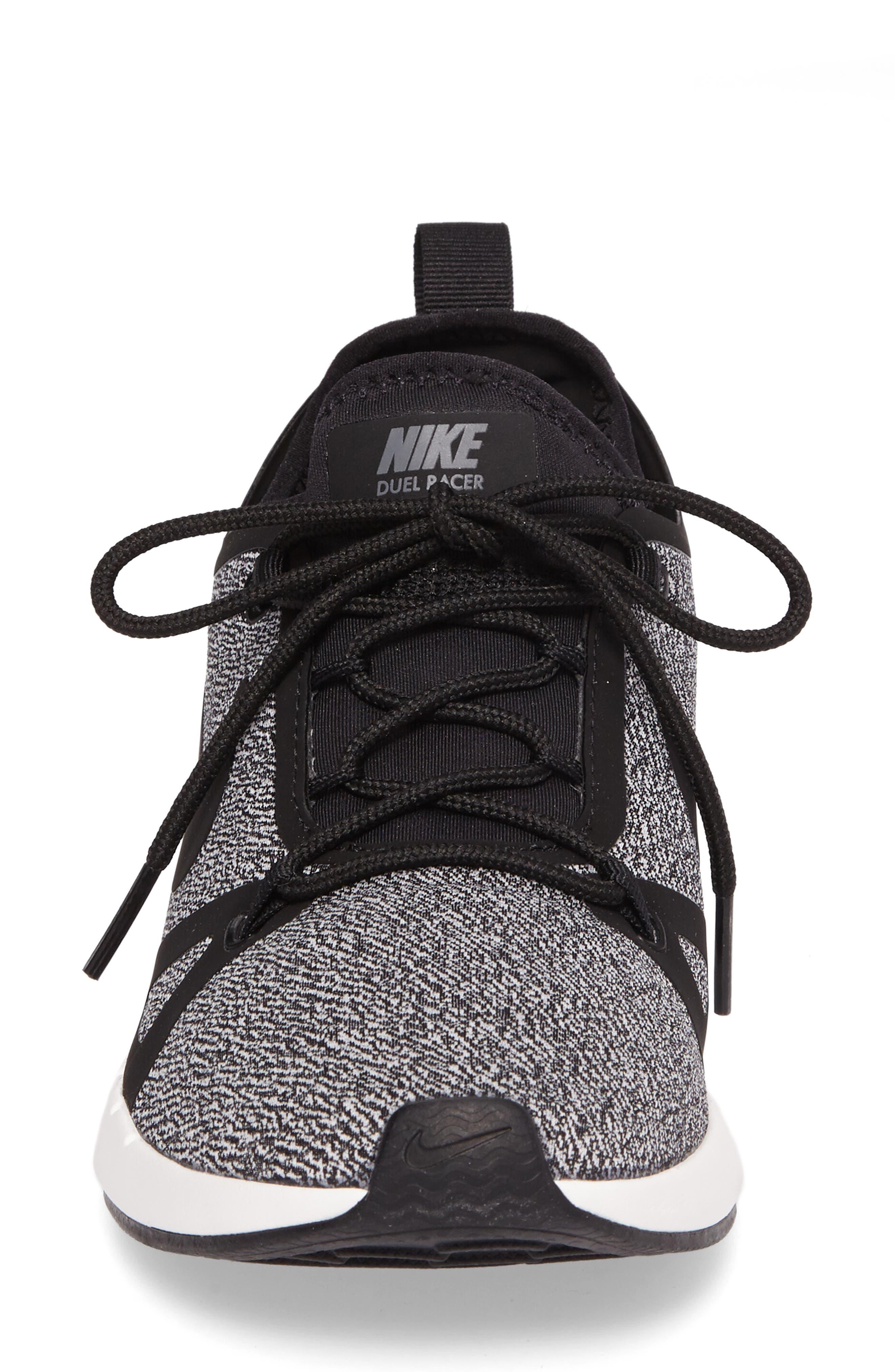 Alternate Image 4  - Nike Duel Racer Knit Sneaker (Women)