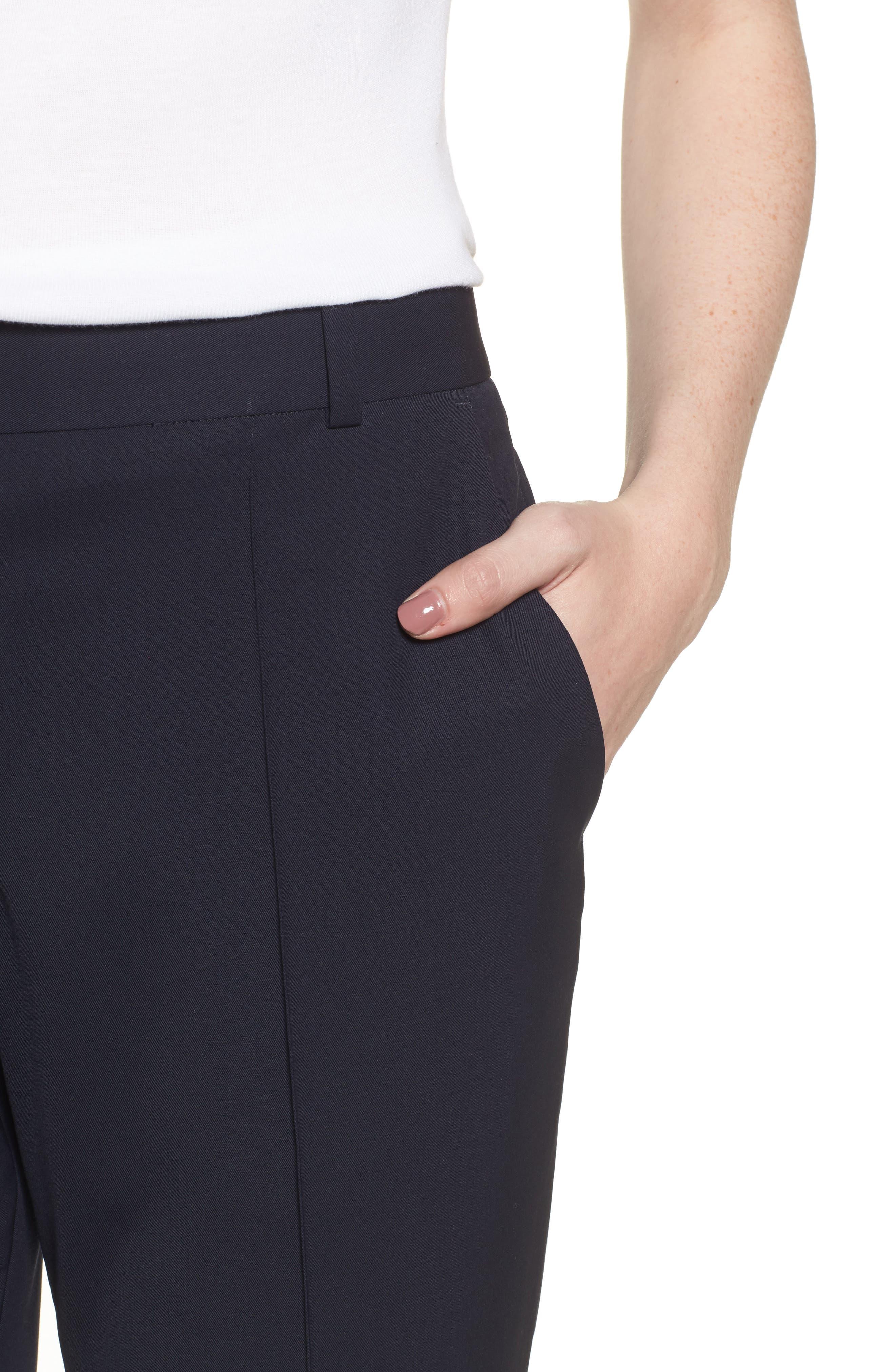 Alternate Image 4  - Everlane The Italian GoWeave Crop Trousers