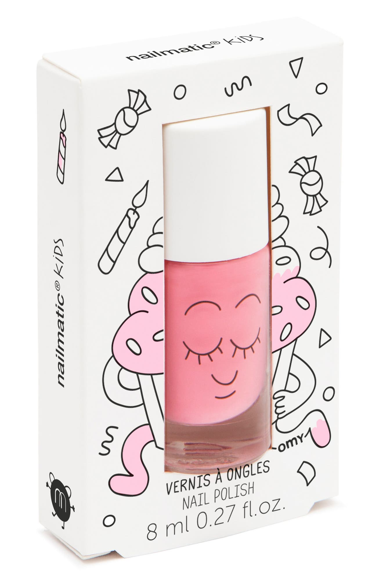 Water-Based Nail Polish,                         Main,                         color, Pink